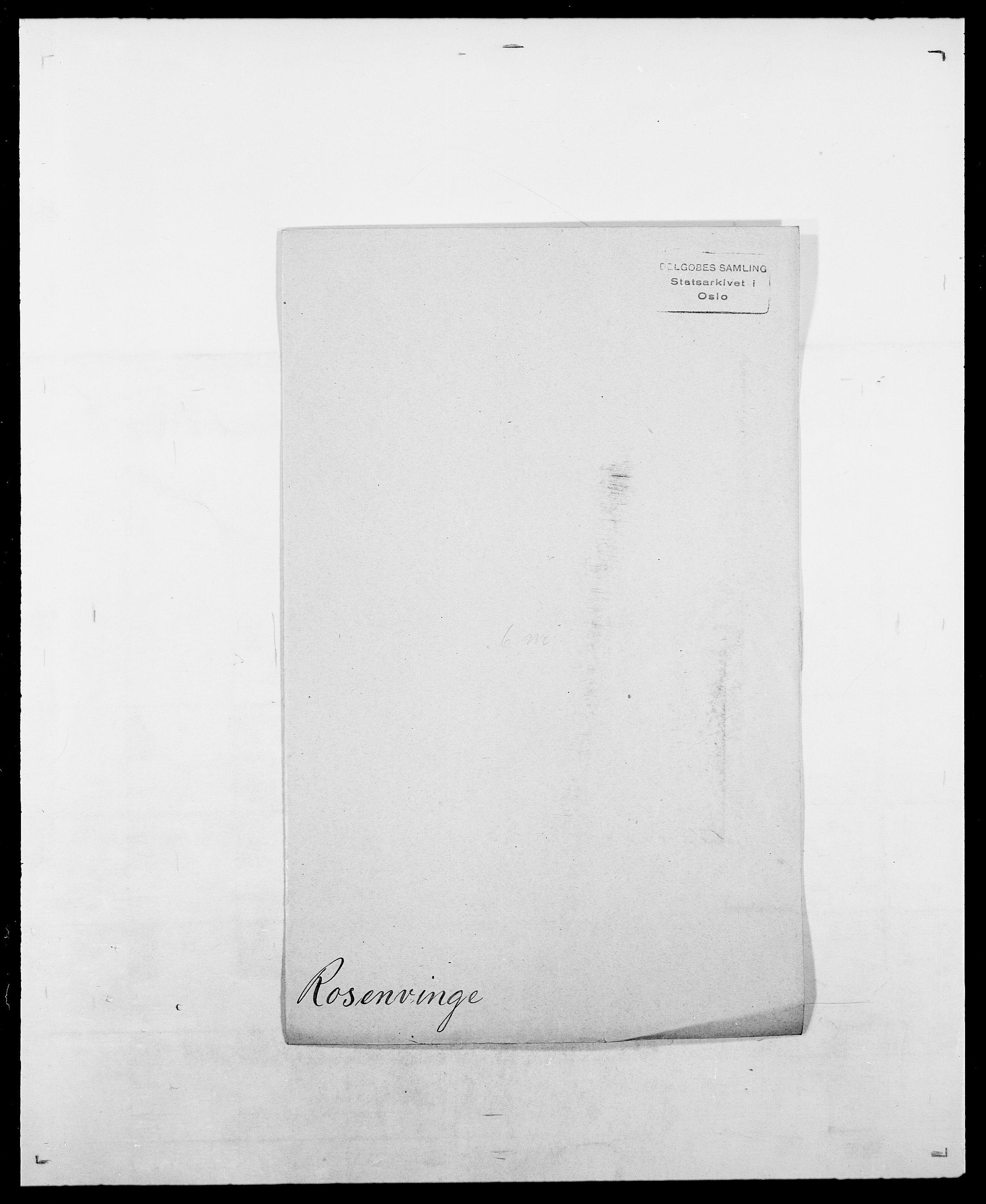 SAO, Delgobe, Charles Antoine - samling, D/Da/L0033: Roald - Røyem, s. 289