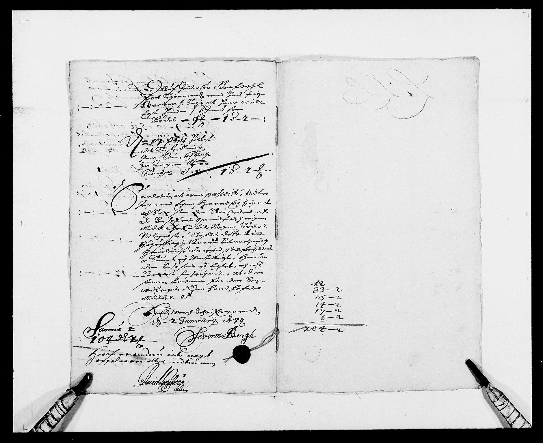 RA, Rentekammeret inntil 1814, Reviderte regnskaper, Fogderegnskap, R24/L1570: Fogderegnskap Numedal og Sandsvær, 1679-1686, s. 192