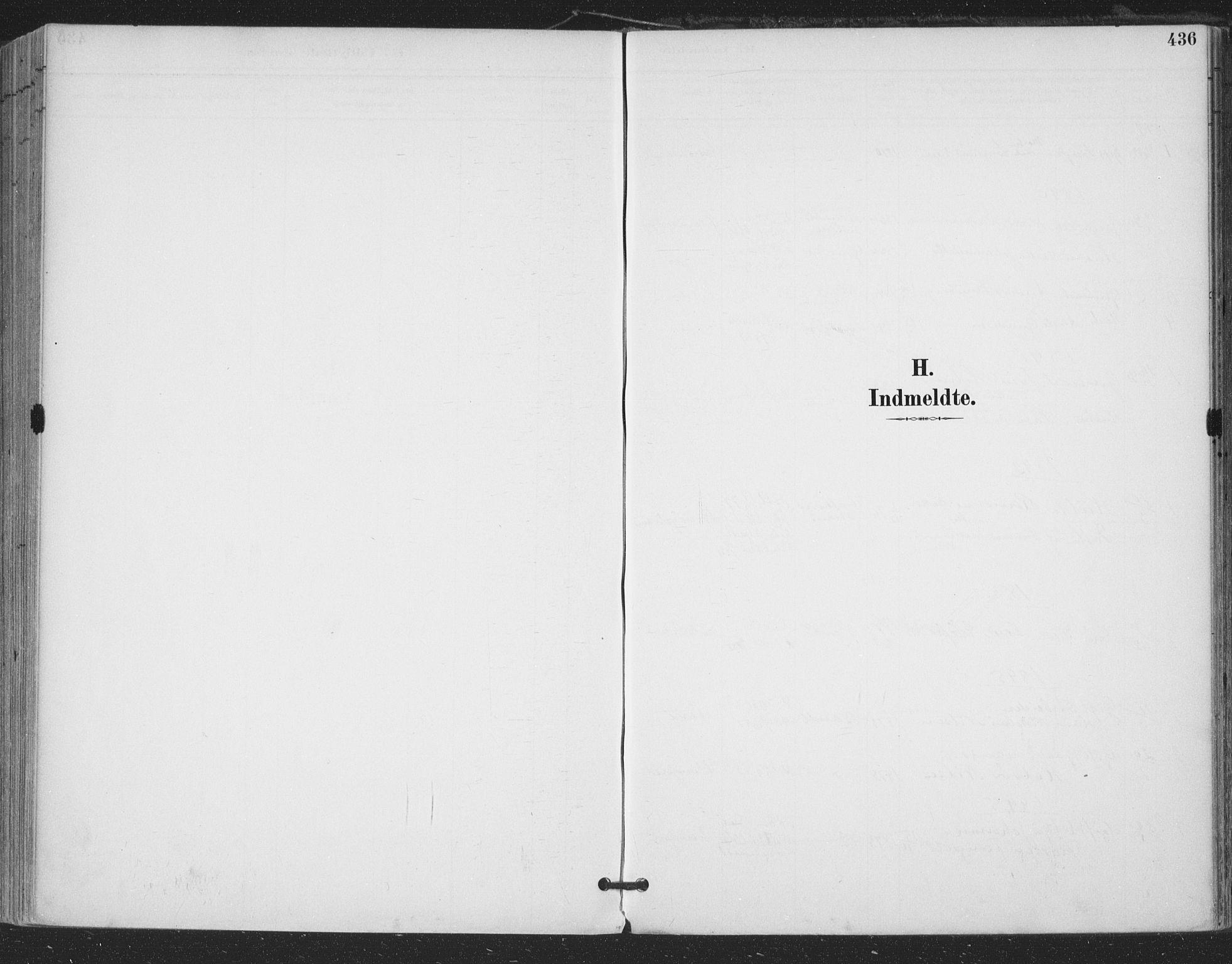 SAKO, Bamble kirkebøker, F/Fa/L0008: Ministerialbok nr. I 8, 1888-1900, s. 436