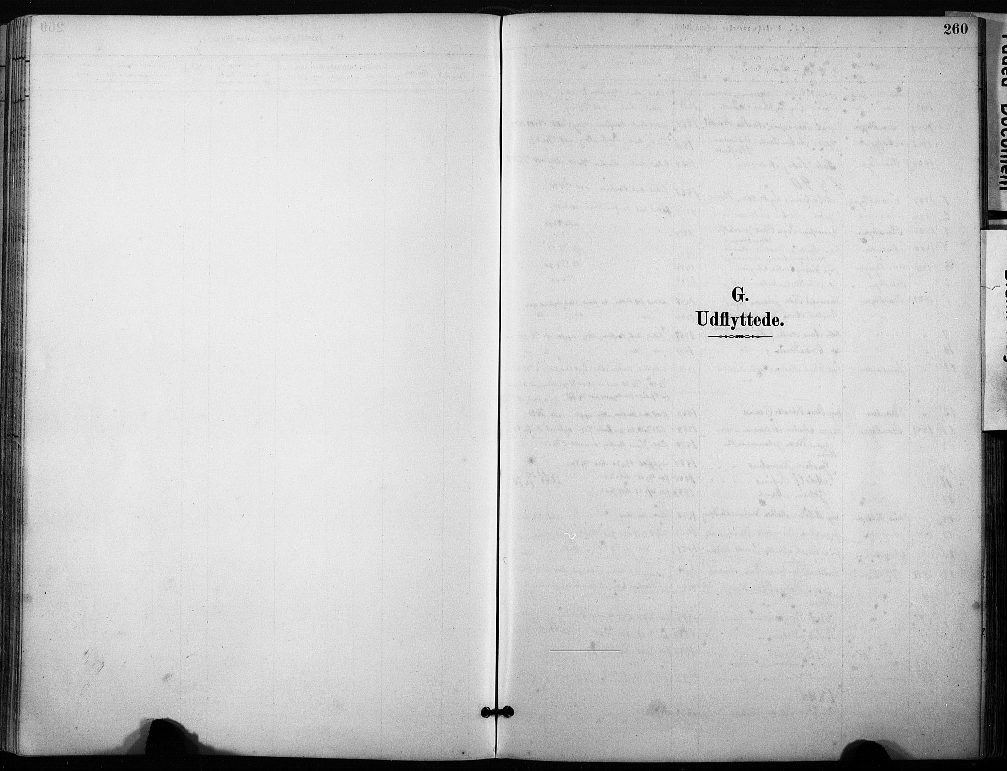 SAT, Ministerialprotokoller, klokkerbøker og fødselsregistre - Sør-Trøndelag, 640/L0579: Ministerialbok nr. 640A04, 1889-1902, s. 260