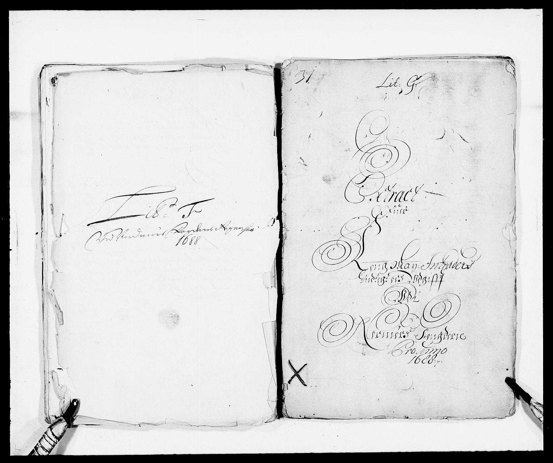 RA, Rentekammeret inntil 1814, Reviderte regnskaper, Fogderegnskap, R56/L3733: Fogderegnskap Nordmøre, 1687-1689, s. 135