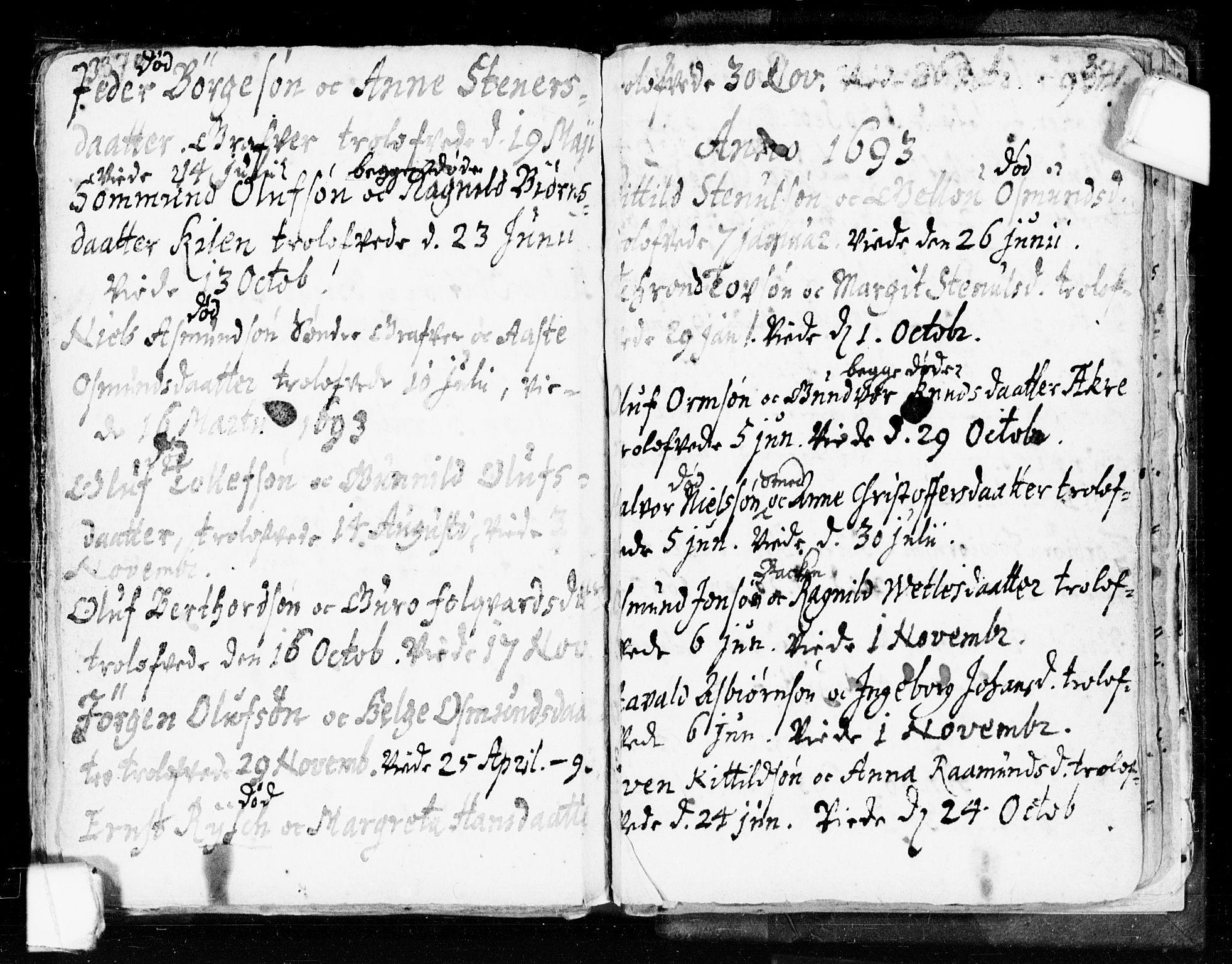 SAKO, Seljord kirkebøker, F/Fa/L0002: Ministerialbok nr. I 2, 1689-1713, s. 370-371