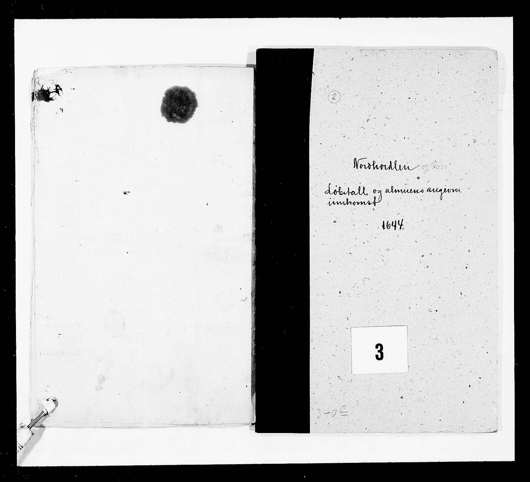 RA, Stattholderembetet 1572-1771, Ek/L0024: Jordebøker 1633-1658:, 1644, s. 7