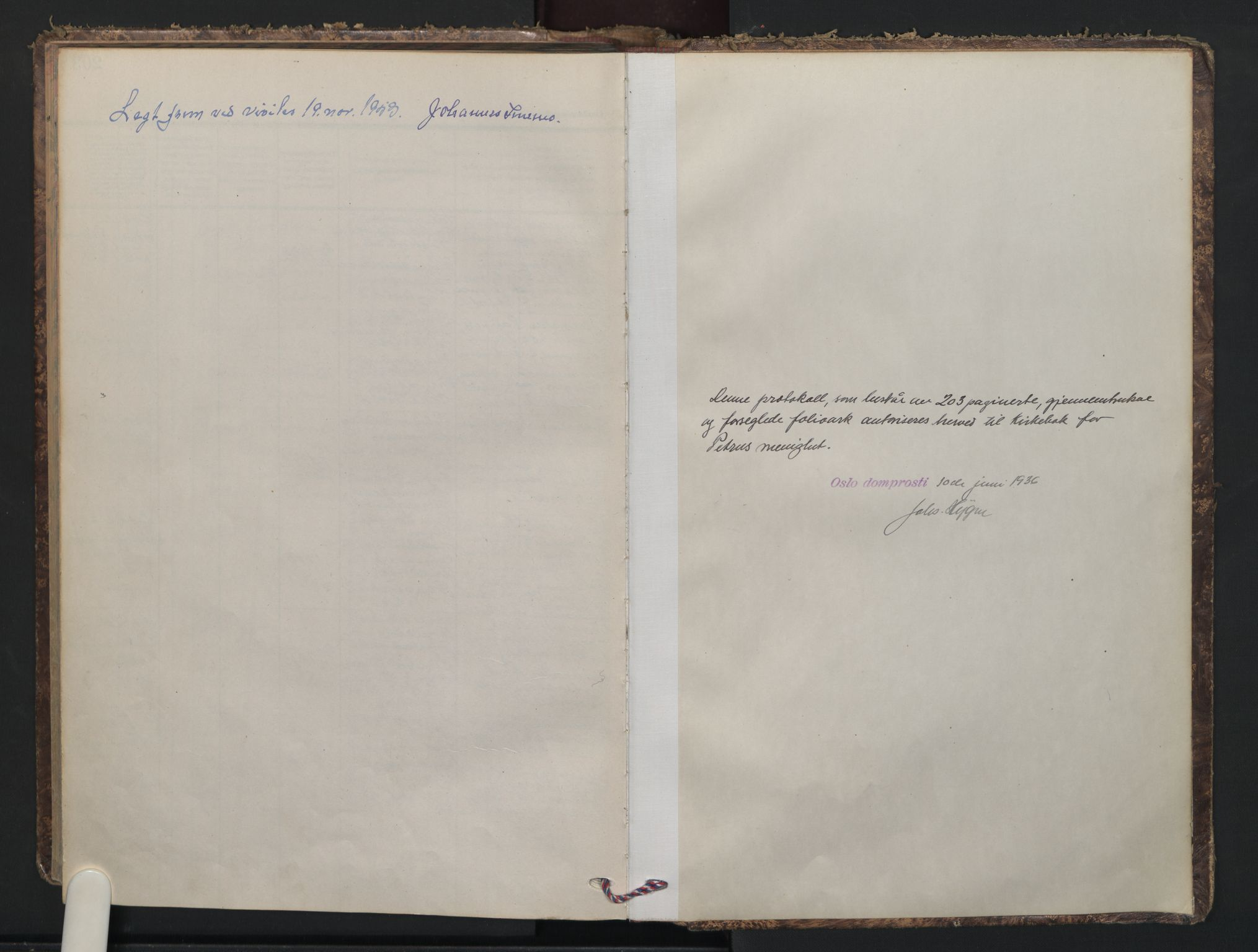 SAO, Petrus prestekontor Kirkebøker, F/Fa/L0018: Ministerialbok nr. 18, 1936-1944