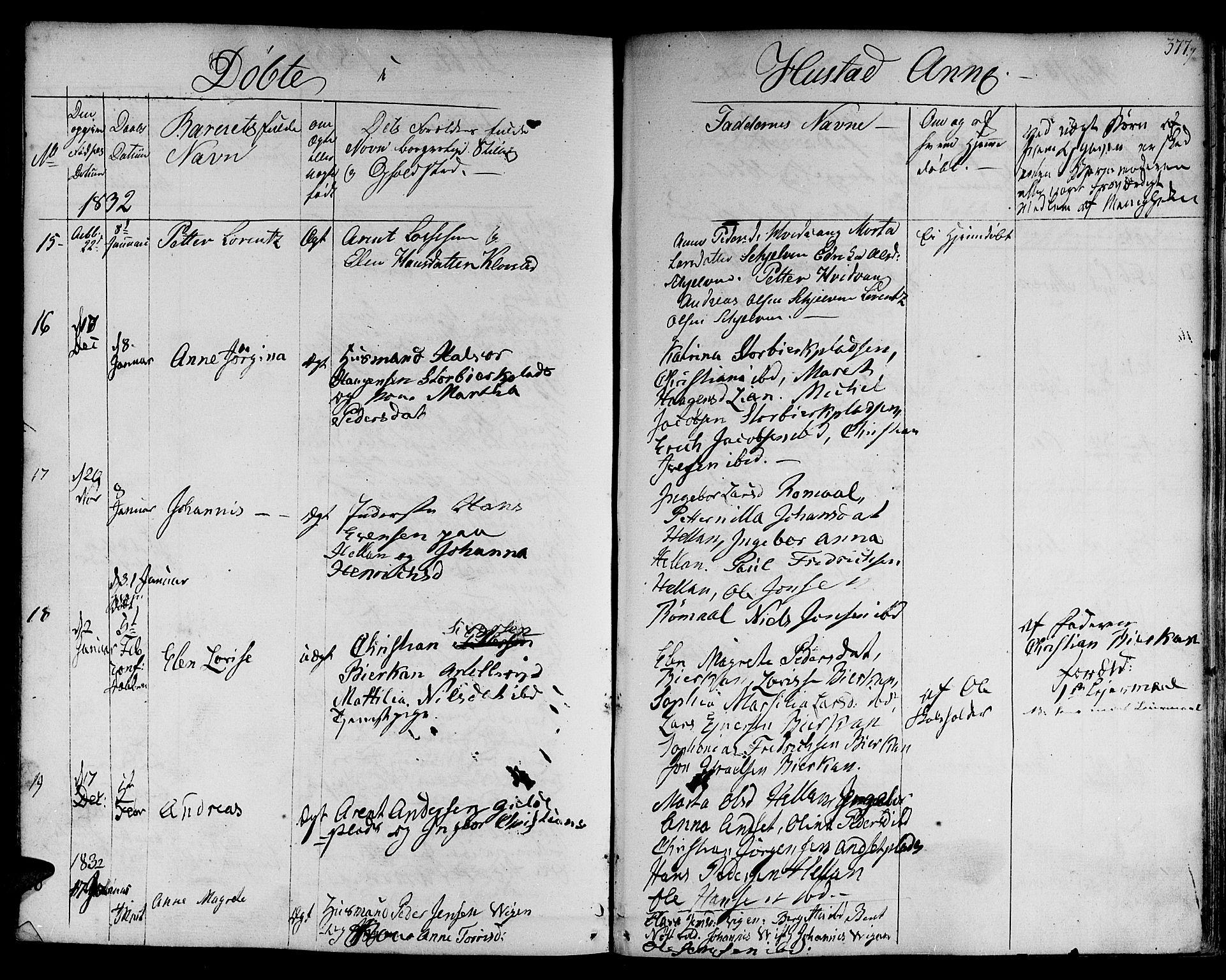 SAT, Ministerialprotokoller, klokkerbøker og fødselsregistre - Nord-Trøndelag, 730/L0277: Ministerialbok nr. 730A06 /3, 1830-1839, s. 377