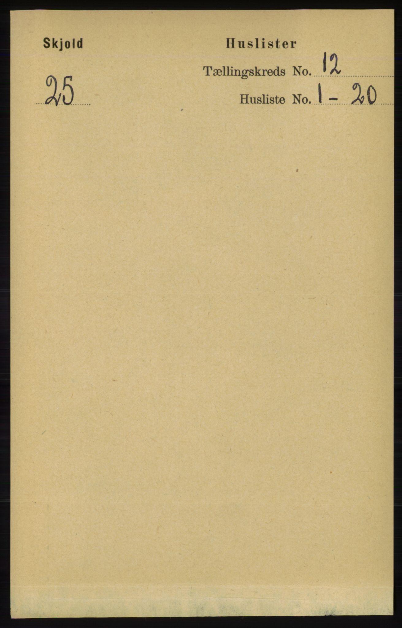 RA, Folketelling 1891 for 1154 Skjold herred, 1891, s. 2228