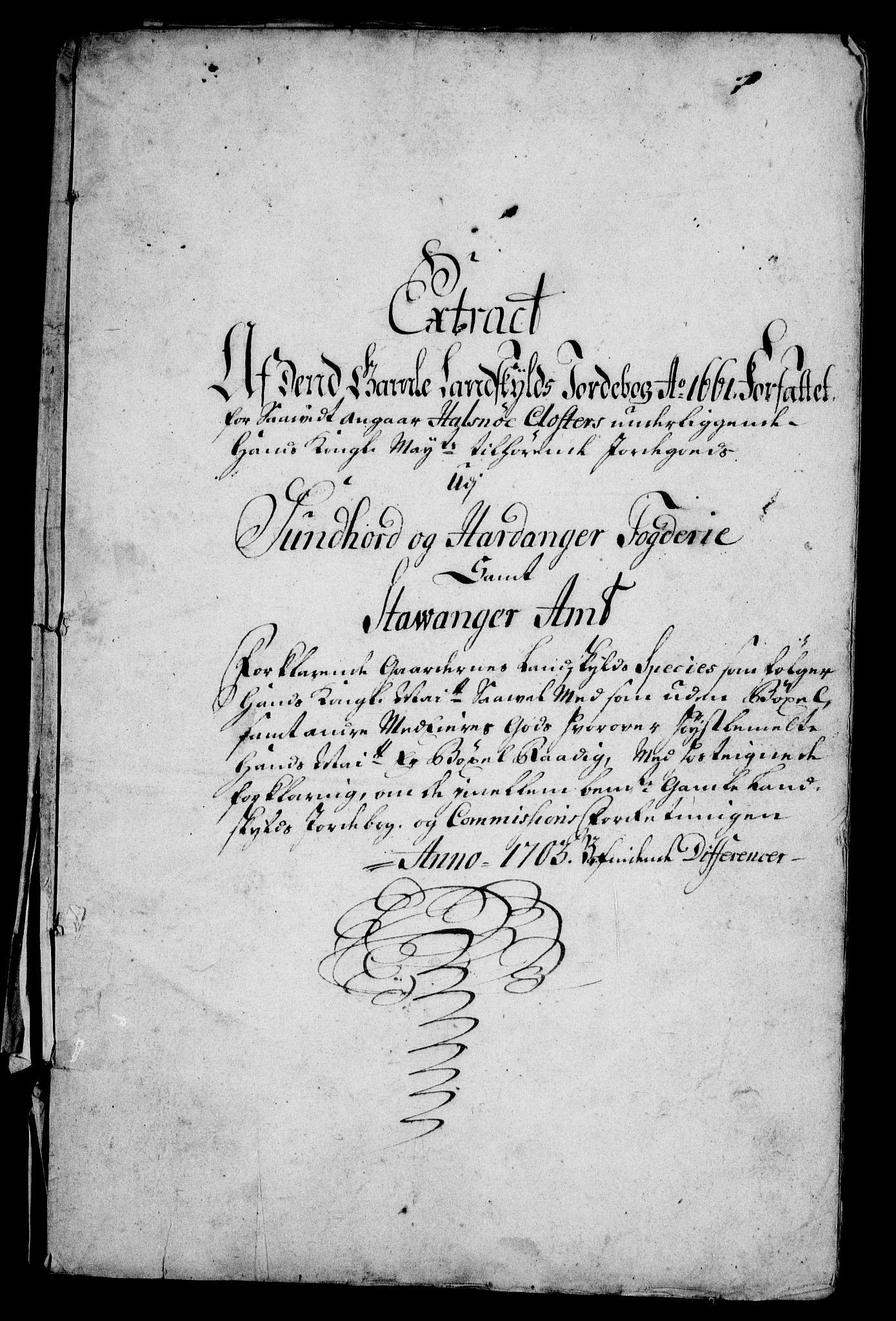 RA, Rentekammeret inntil 1814, Realistisk ordnet avdeling, On/L0005: [Jj 6]: Forskjellige dokumenter om Halsnøy klosters gods, 1697-1770, s. 61