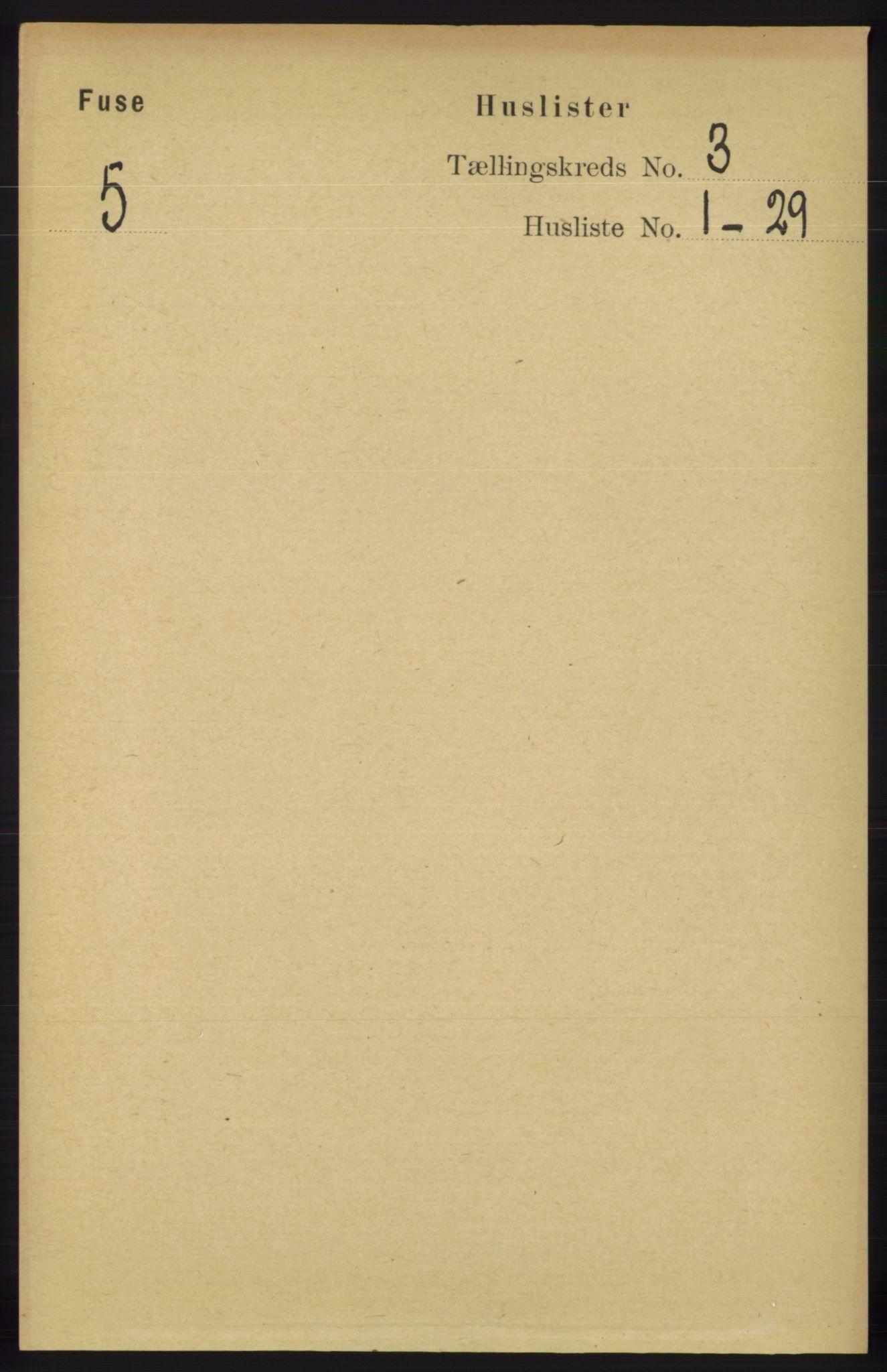 RA, Folketelling 1891 for 1241 Fusa herred, 1891, s. 486