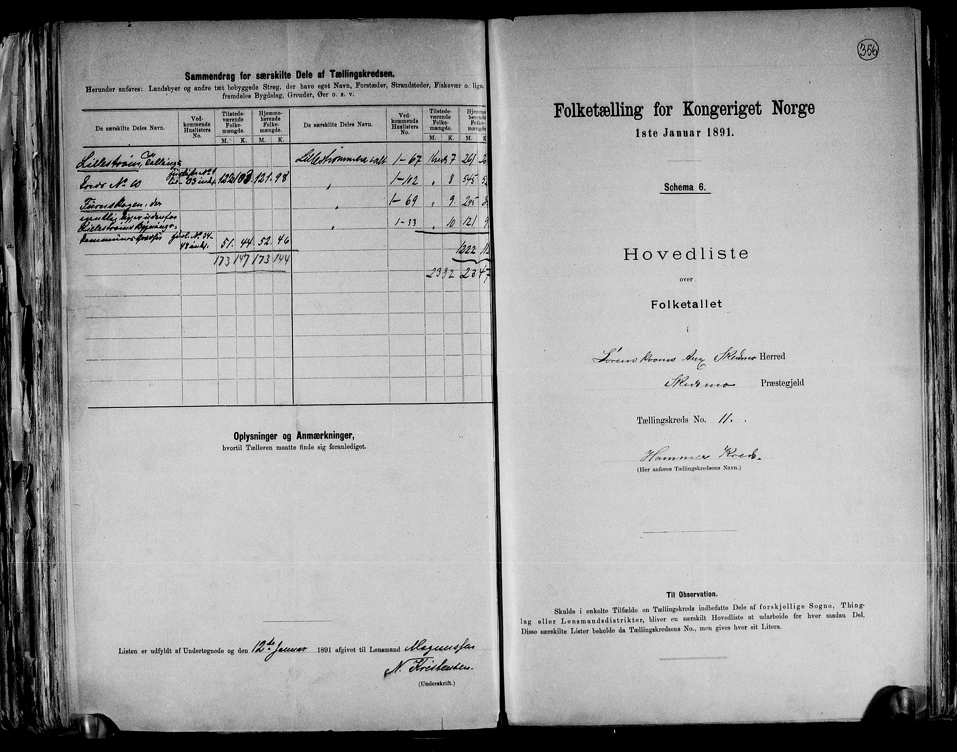 RA, Folketelling 1891 for 0231 Skedsmo herred, 1891, s. 24