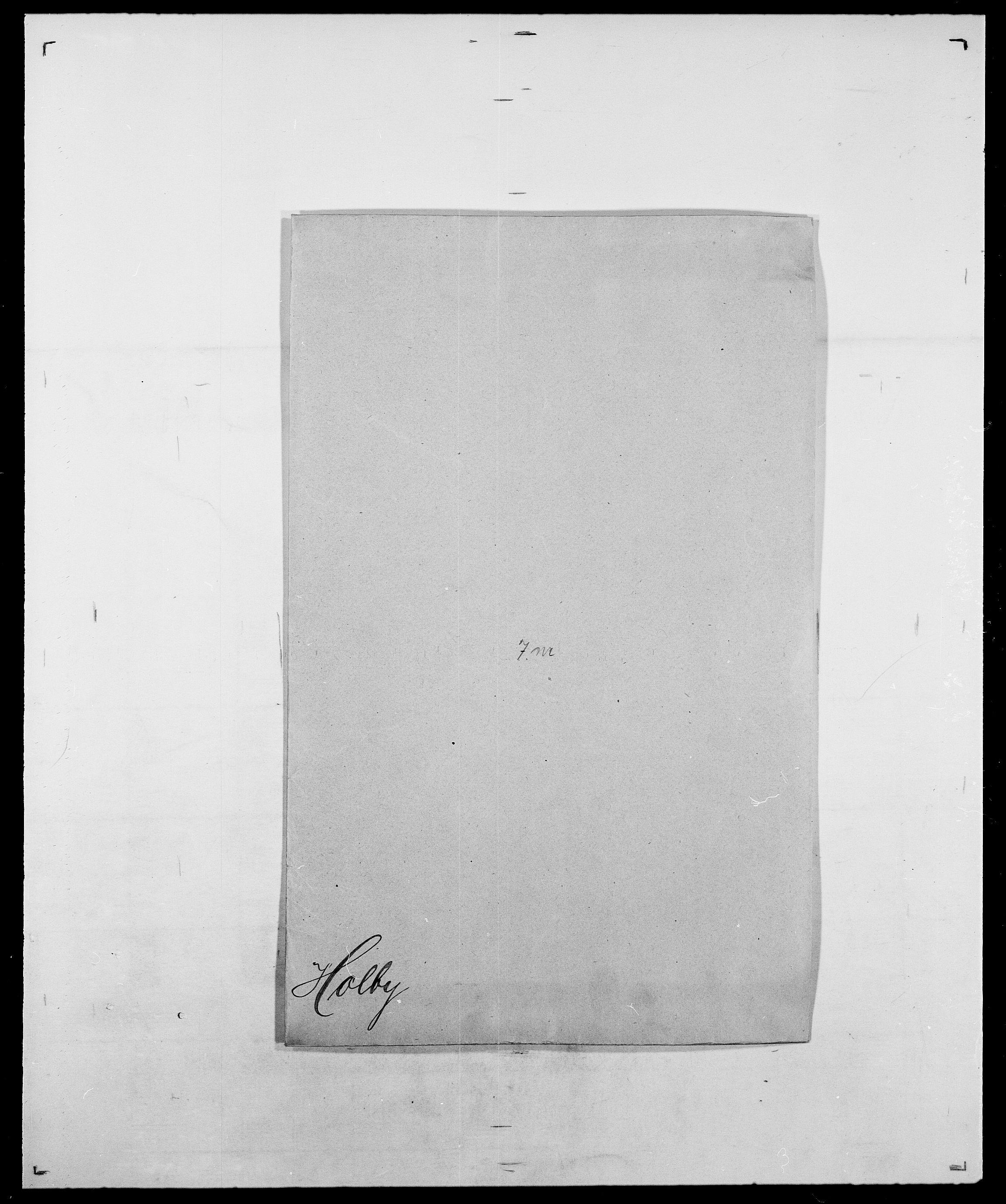 SAO, Delgobe, Charles Antoine - samling, D/Da/L0018: Hoch - Howert, s. 215