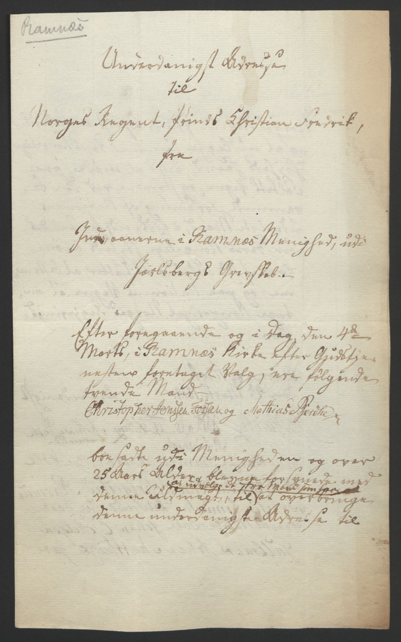 RA, Statsrådssekretariatet, D/Db/L0008: Fullmakter for Eidsvollsrepresentantene i 1814. , 1814, s. 17