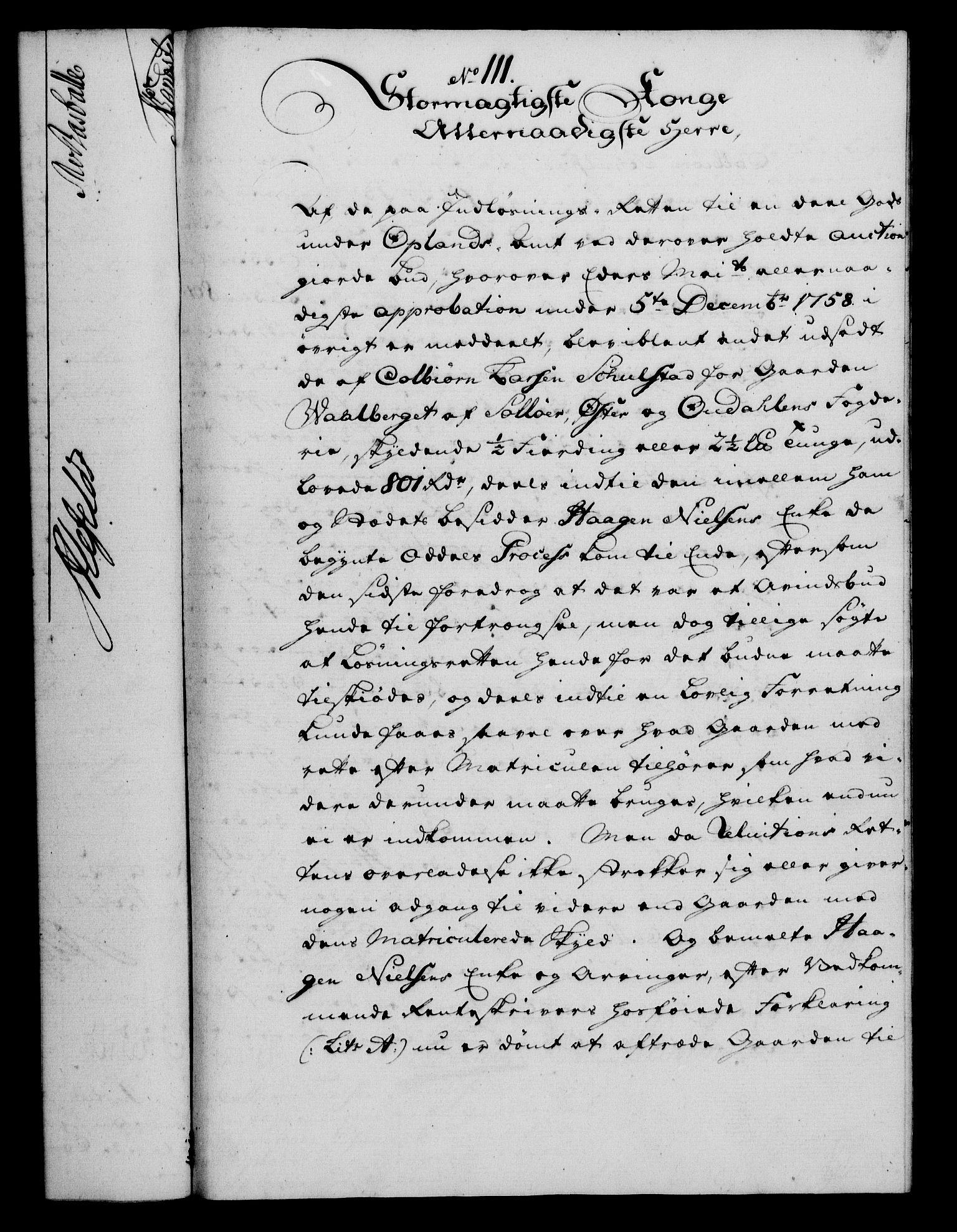 RA, Rentekammeret, Kammerkanselliet, G/Gf/Gfa/L0042: Norsk relasjons- og resolusjonsprotokoll (merket RK 52.42), 1760, s. 401