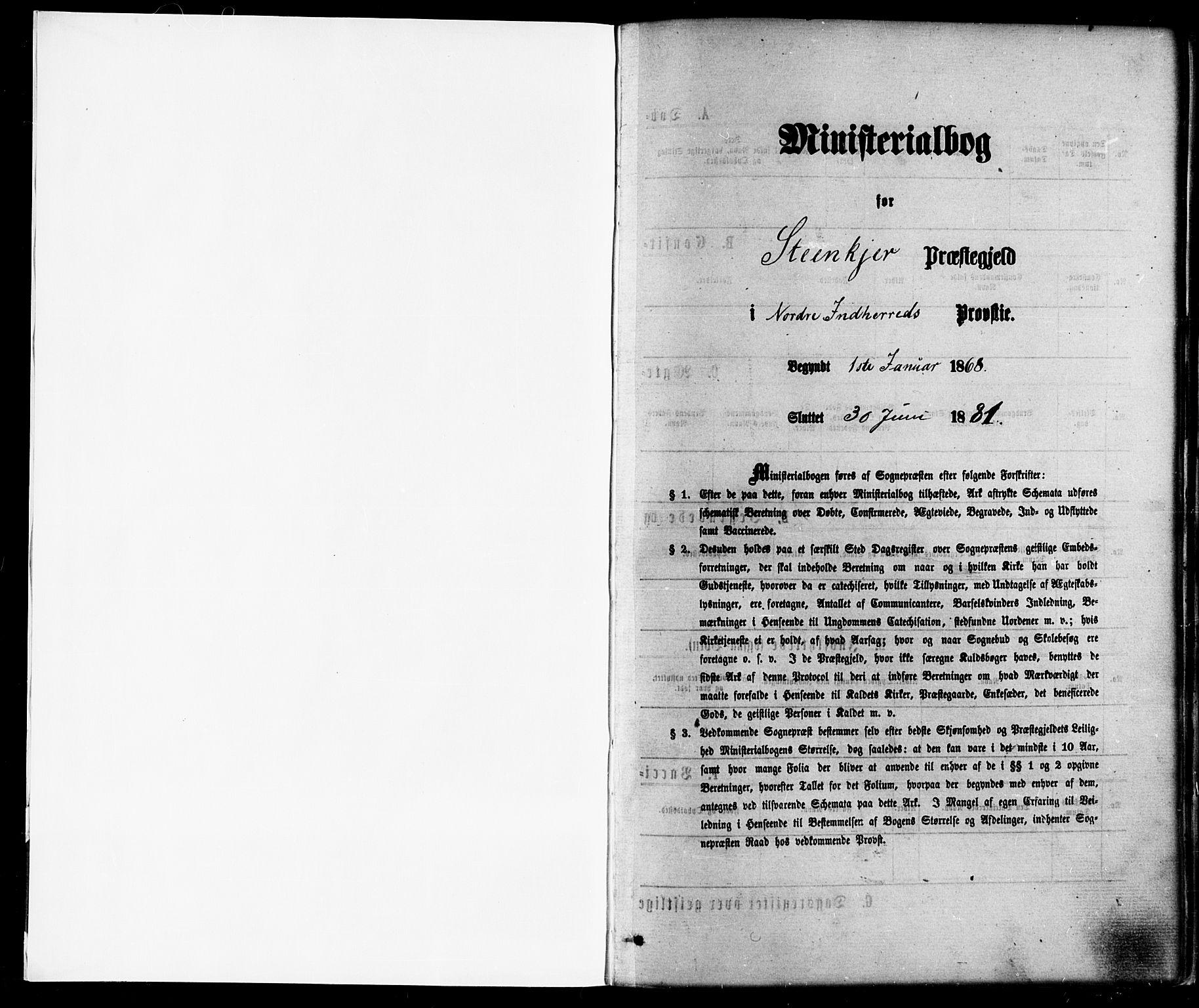 SAT, Ministerialprotokoller, klokkerbøker og fødselsregistre - Nord-Trøndelag, 739/L0370: Ministerialbok nr. 739A02, 1868-1881