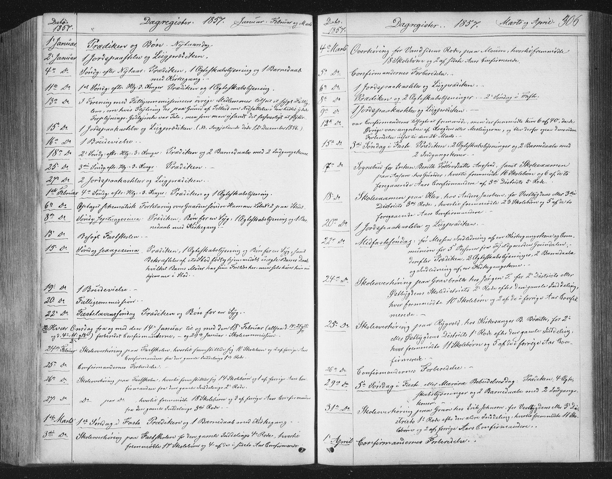 SAT, Ministerialprotokoller, klokkerbøker og fødselsregistre - Nord-Trøndelag, 749/L0472: Ministerialbok nr. 749A06, 1857-1873, s. 306