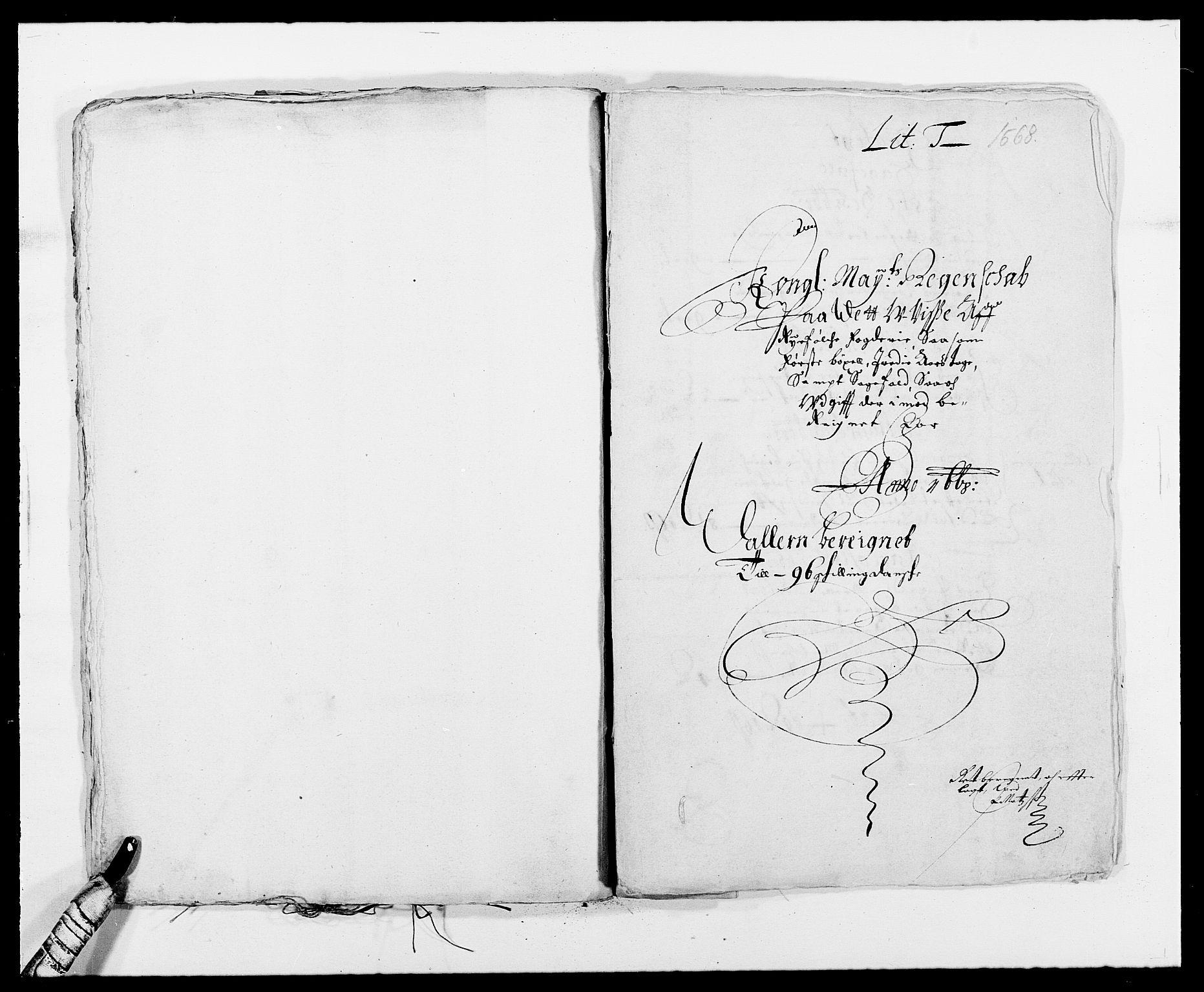 RA, Rentekammeret inntil 1814, Reviderte regnskaper, Fogderegnskap, R47/L2841: Fogderegnskap Ryfylke, 1665-1669, s. 289