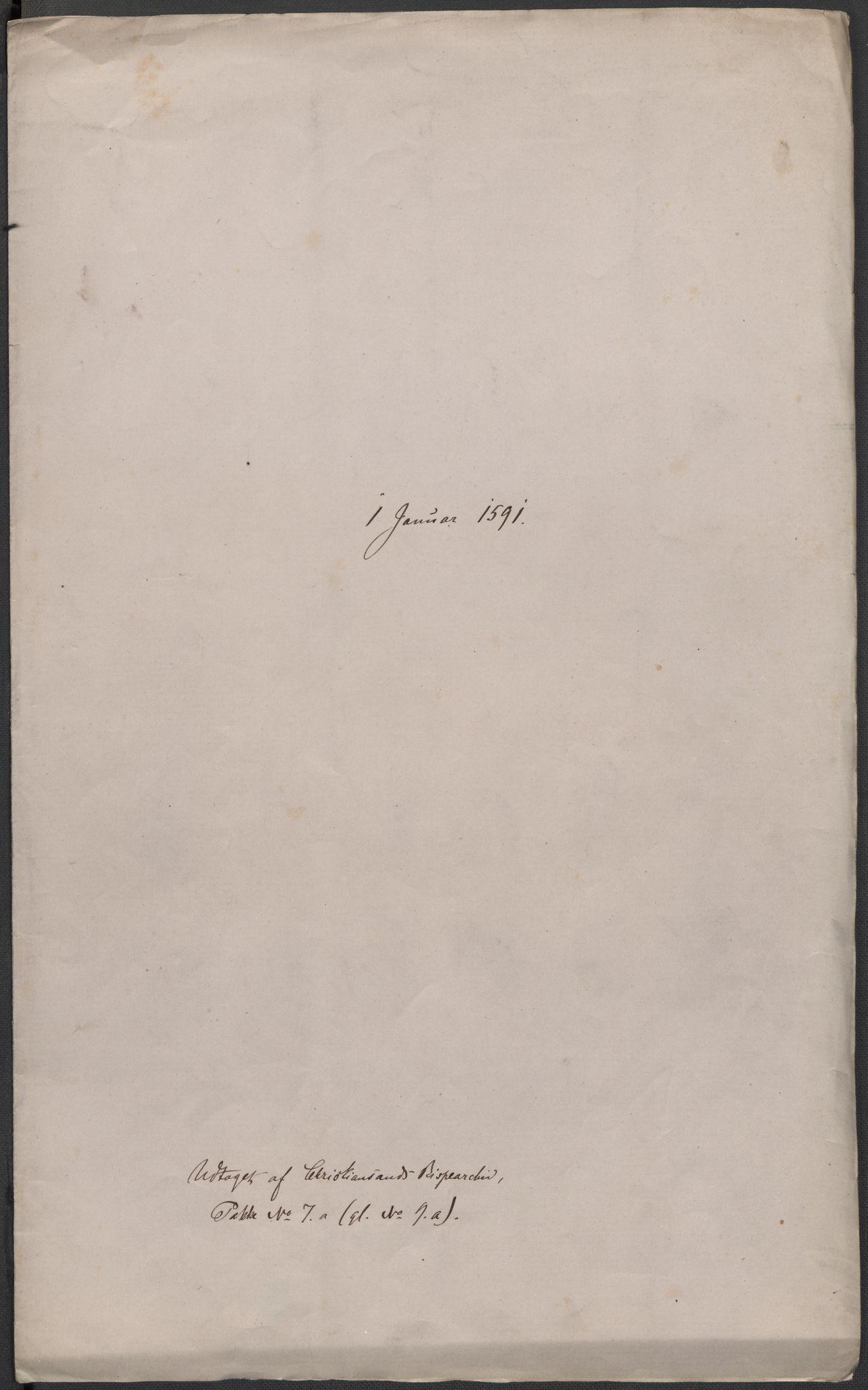 RA, Riksarkivets diplomsamling, F02/L0093: Dokumenter, 1591, s. 2