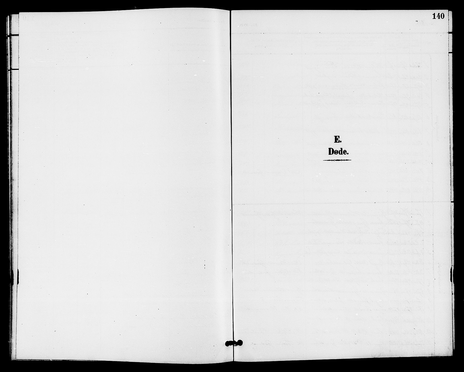 SAKO, Bø kirkebøker, G/Ga/L0006: Klokkerbok nr. 6, 1898-1909, s. 140
