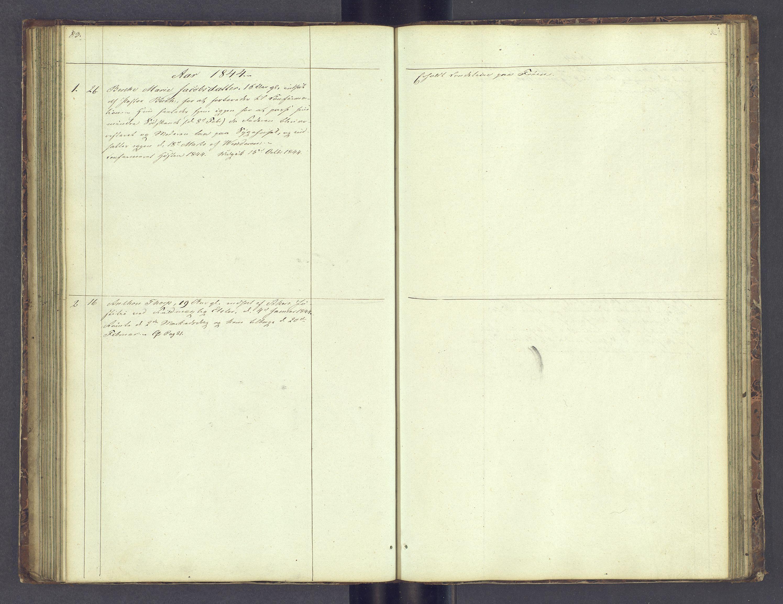 SAH, Toftes Gave, F/Fc/L0001: Elevprotokoll, 1841-1847, s. 83