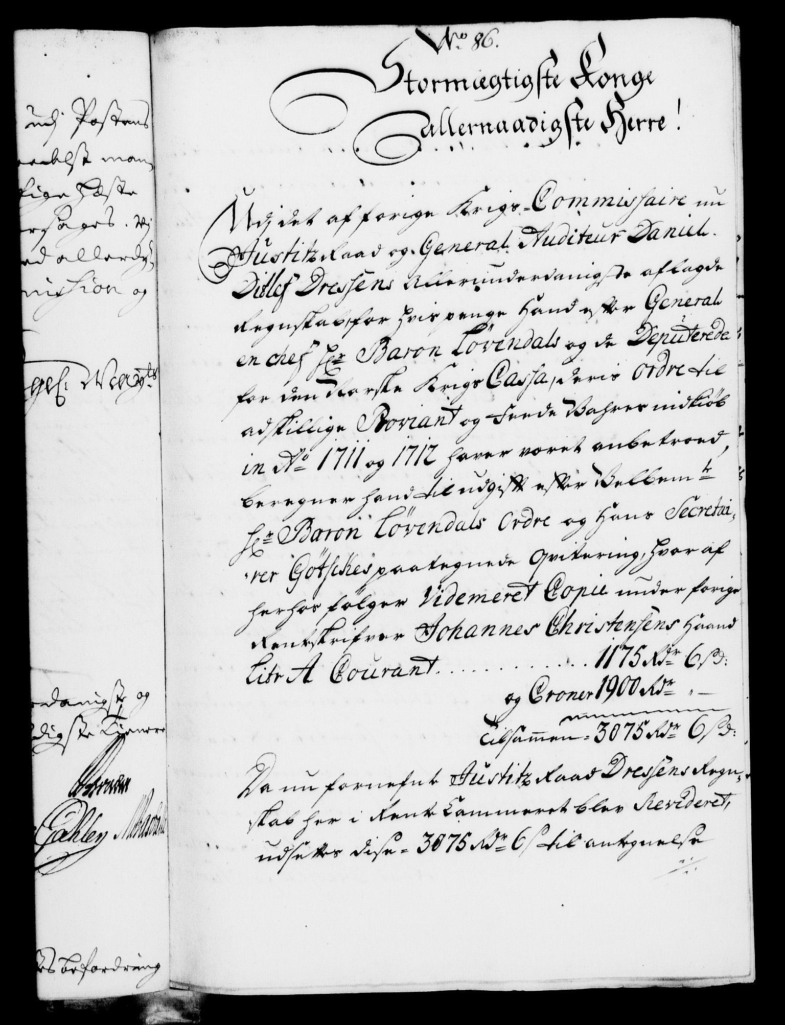 RA, Rentekammeret, Kammerkanselliet, G/Gf/Gfa/L0007: Norsk relasjons- og resolusjonsprotokoll (merket RK 52.7), 1724, s. 593