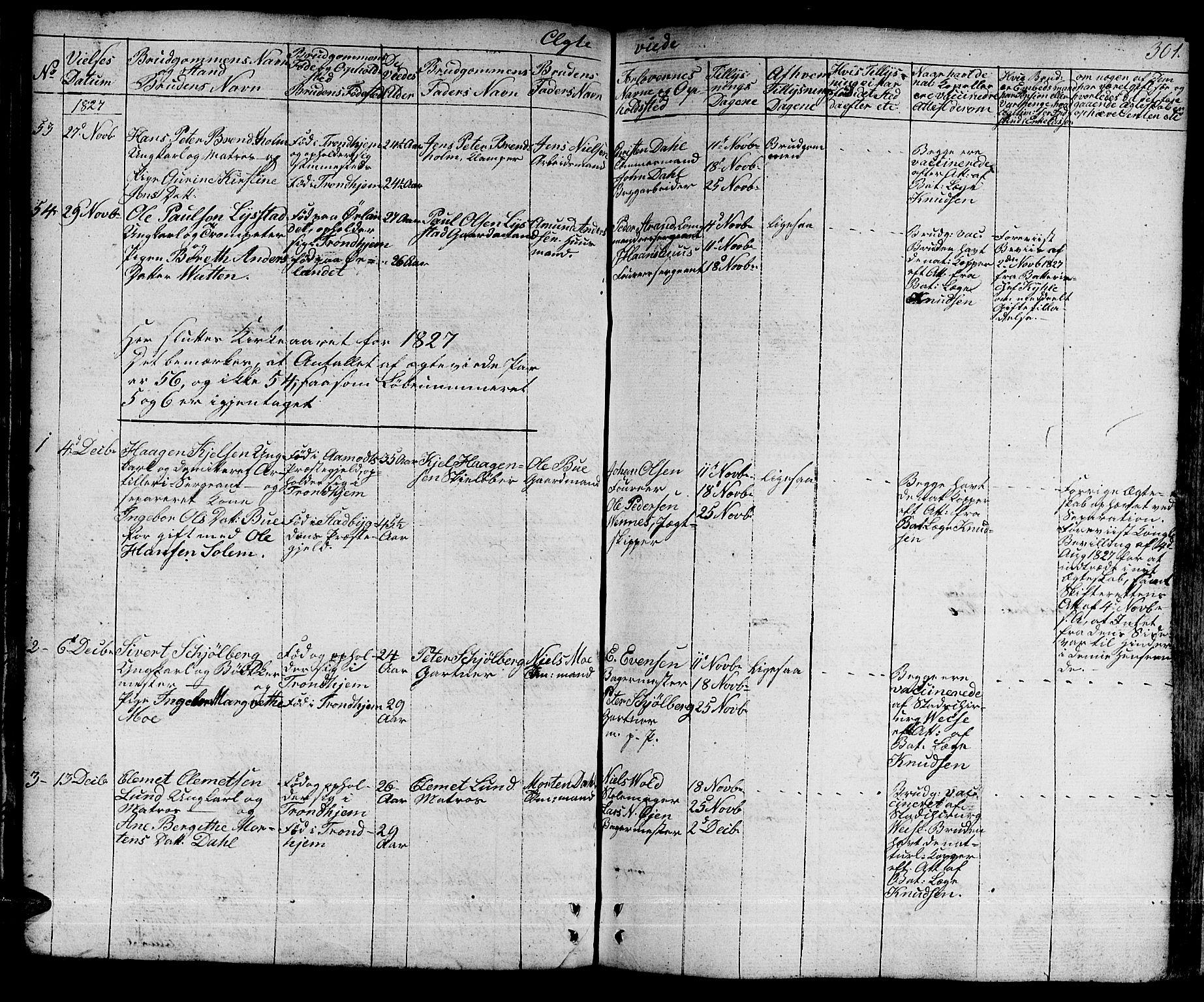 SAT, Ministerialprotokoller, klokkerbøker og fødselsregistre - Sør-Trøndelag, 601/L0045: Ministerialbok nr. 601A13, 1821-1831, s. 301