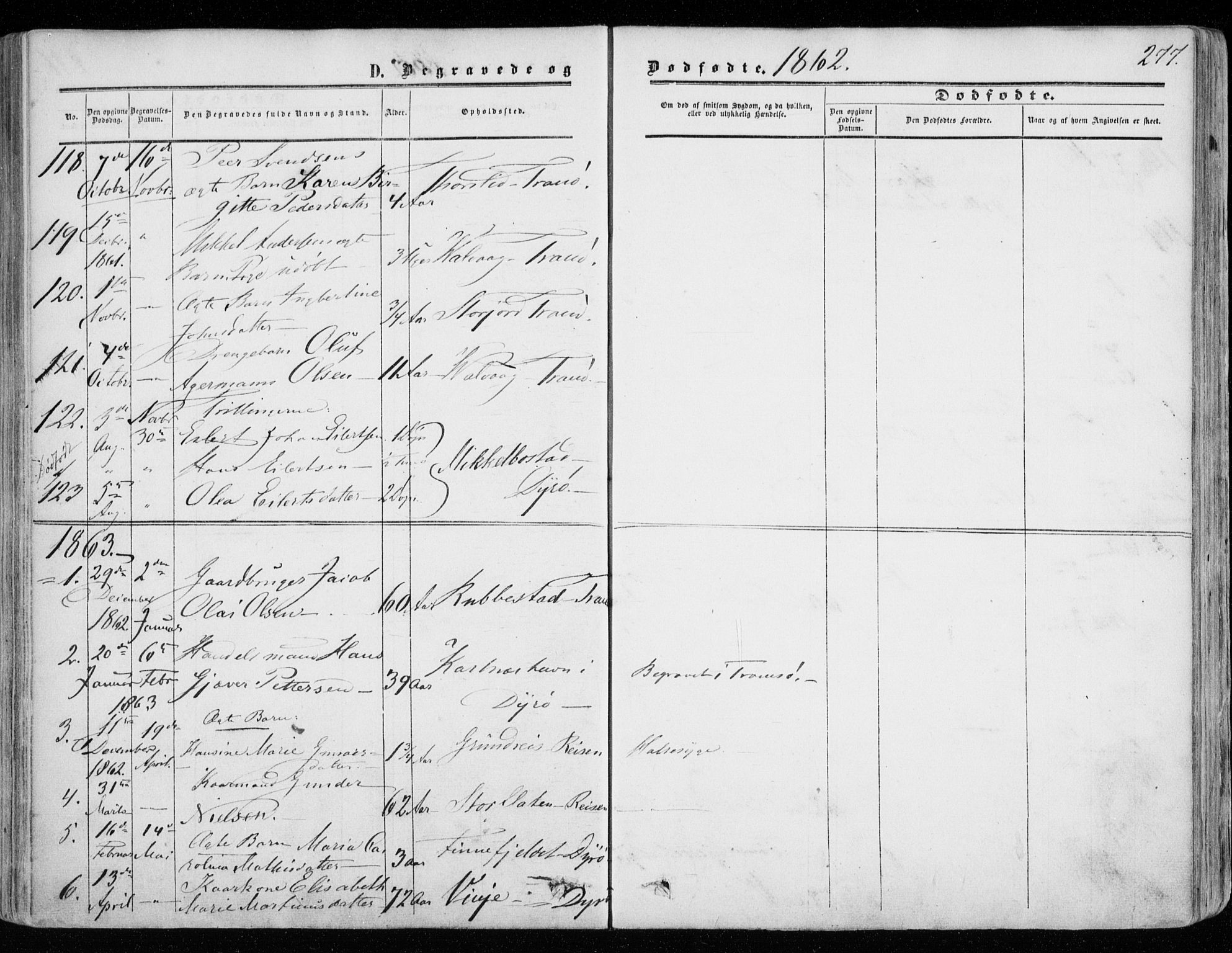 SATØ, Tranøy sokneprestkontor, I/Ia/Iaa/L0007kirke: Ministerialbok nr. 7, 1856-1866, s. 277