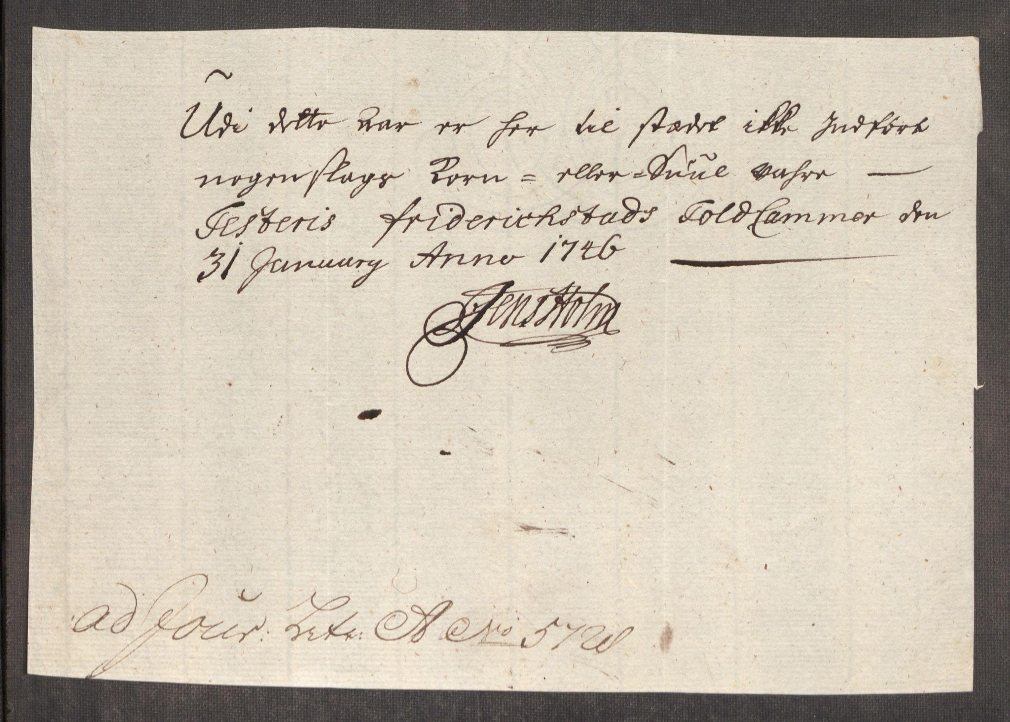 RA, Rentekammeret inntil 1814, Realistisk ordnet avdeling, Oe/L0003: [Ø1]: Priskuranter, 1745-1748, s. 241