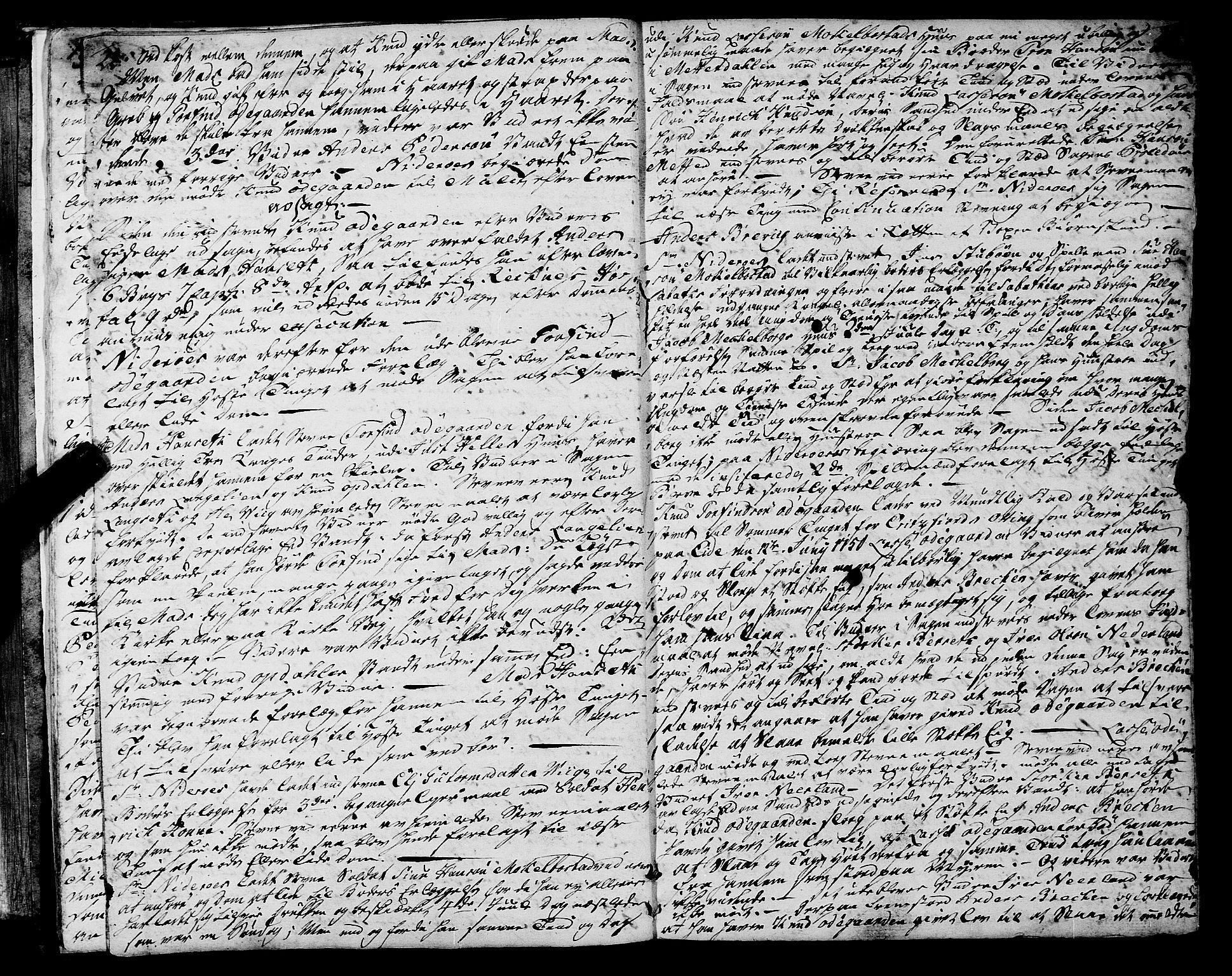 SAT, Romsdal sorenskriveri, 1/1A/L0013: Tingbok, 1749-1757, s. 22-23
