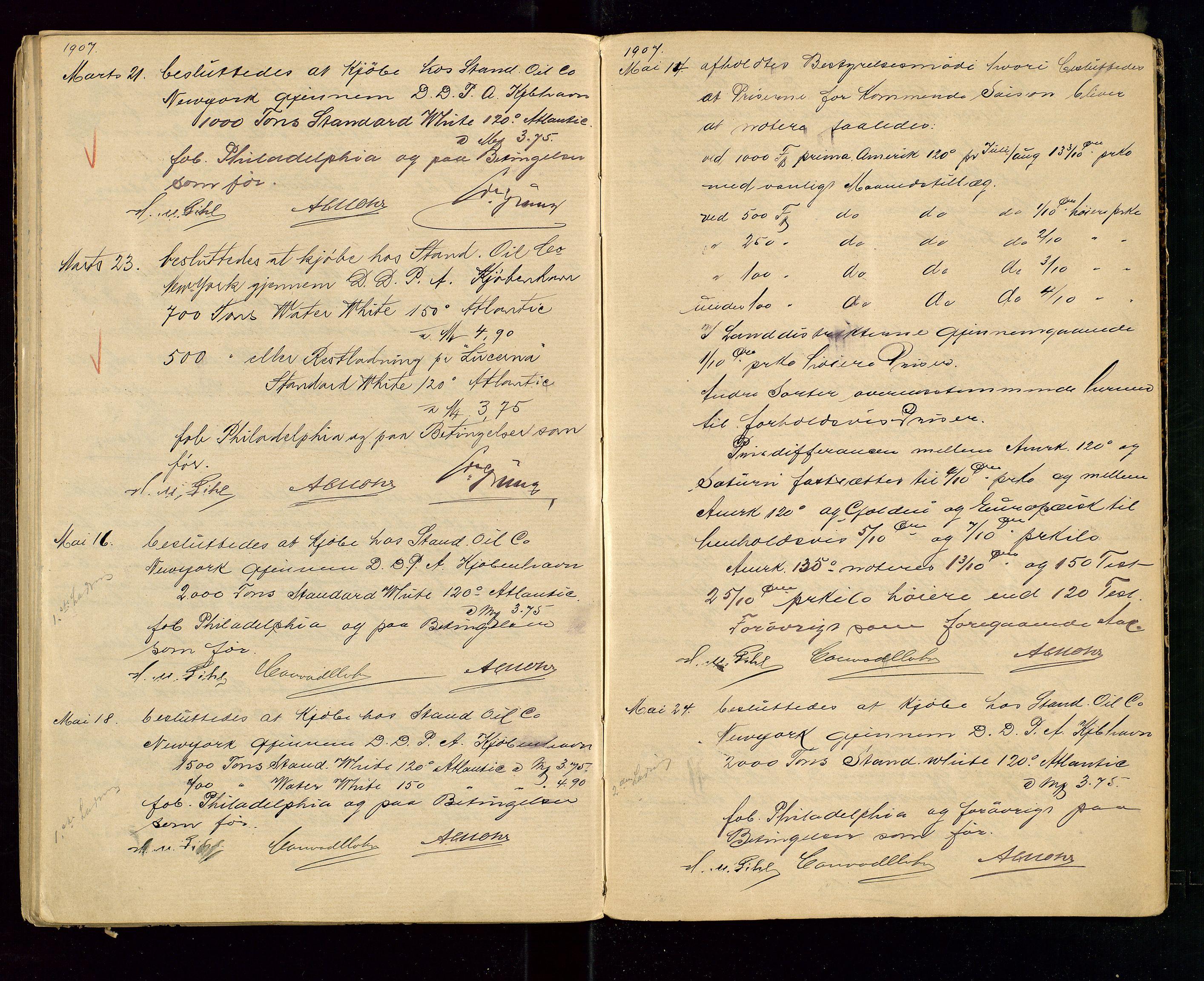 SAST, PA 1533 - A/S Vestlandske Petroleumscompani, A/Aa/L0001: Generalforsamlinger og styreprotokoller, 1890-1907, s. 68