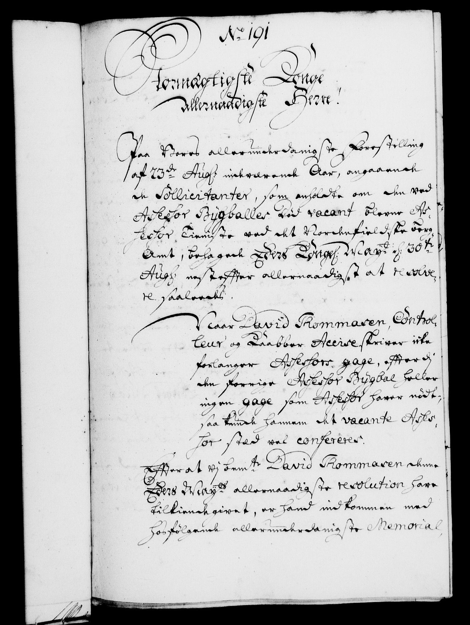 RA, Rentekammeret, Kammerkanselliet, G/Gf/Gfa/L0004: Norsk relasjons- og resolusjonsprotokoll (merket RK 52.4), 1721, s. 1334