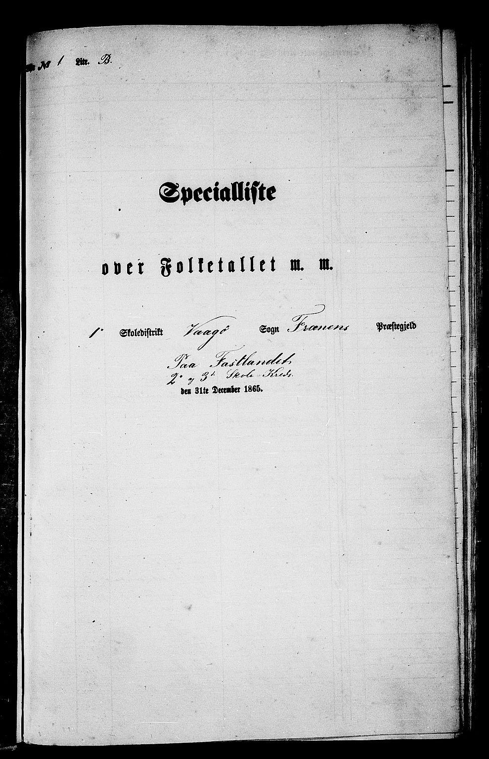 RA, Folketelling 1865 for 1548P Fræna prestegjeld, 1865, s. 13