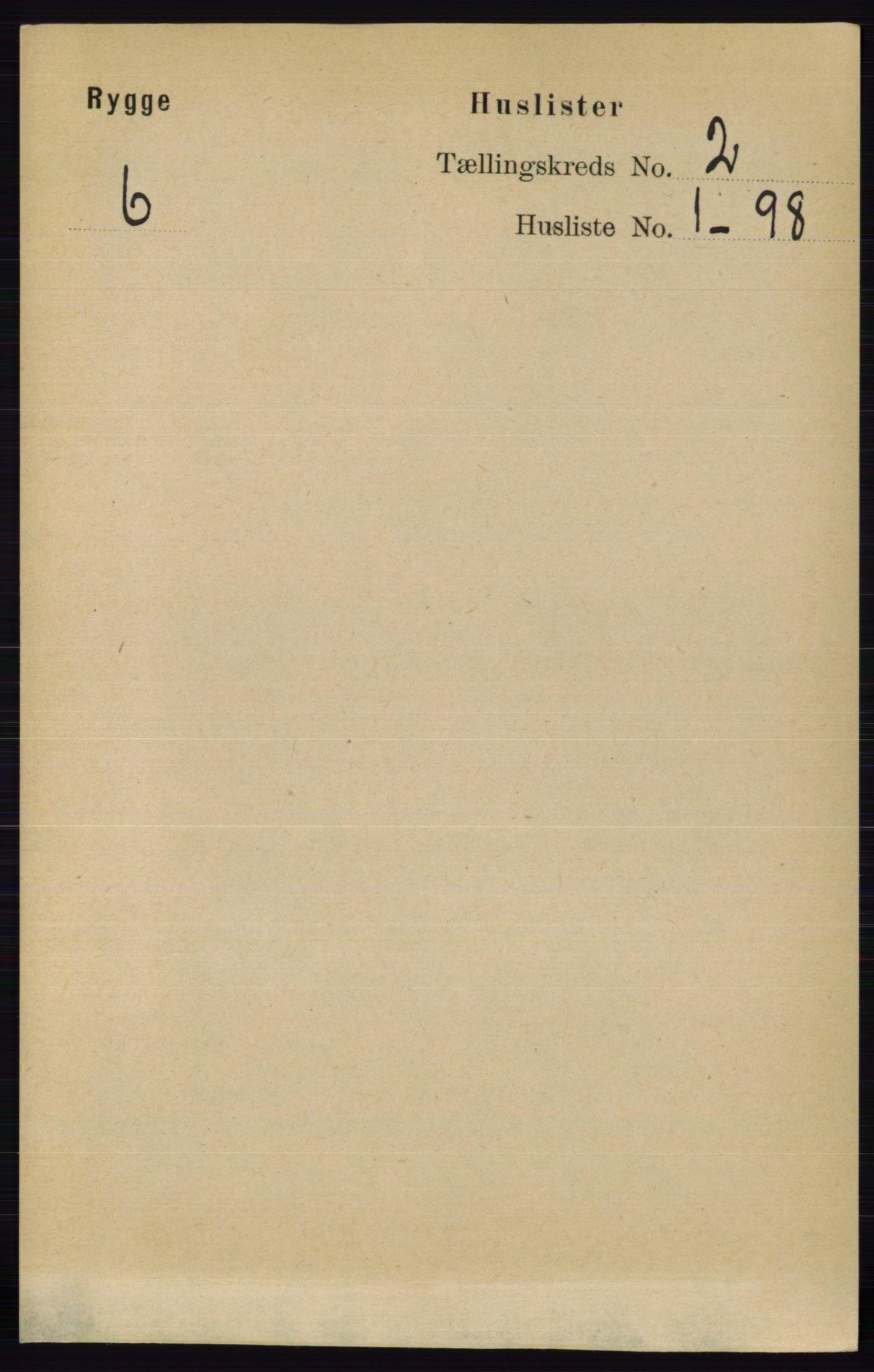 RA, Folketelling 1891 for 0136 Rygge herred, 1891, s. 905
