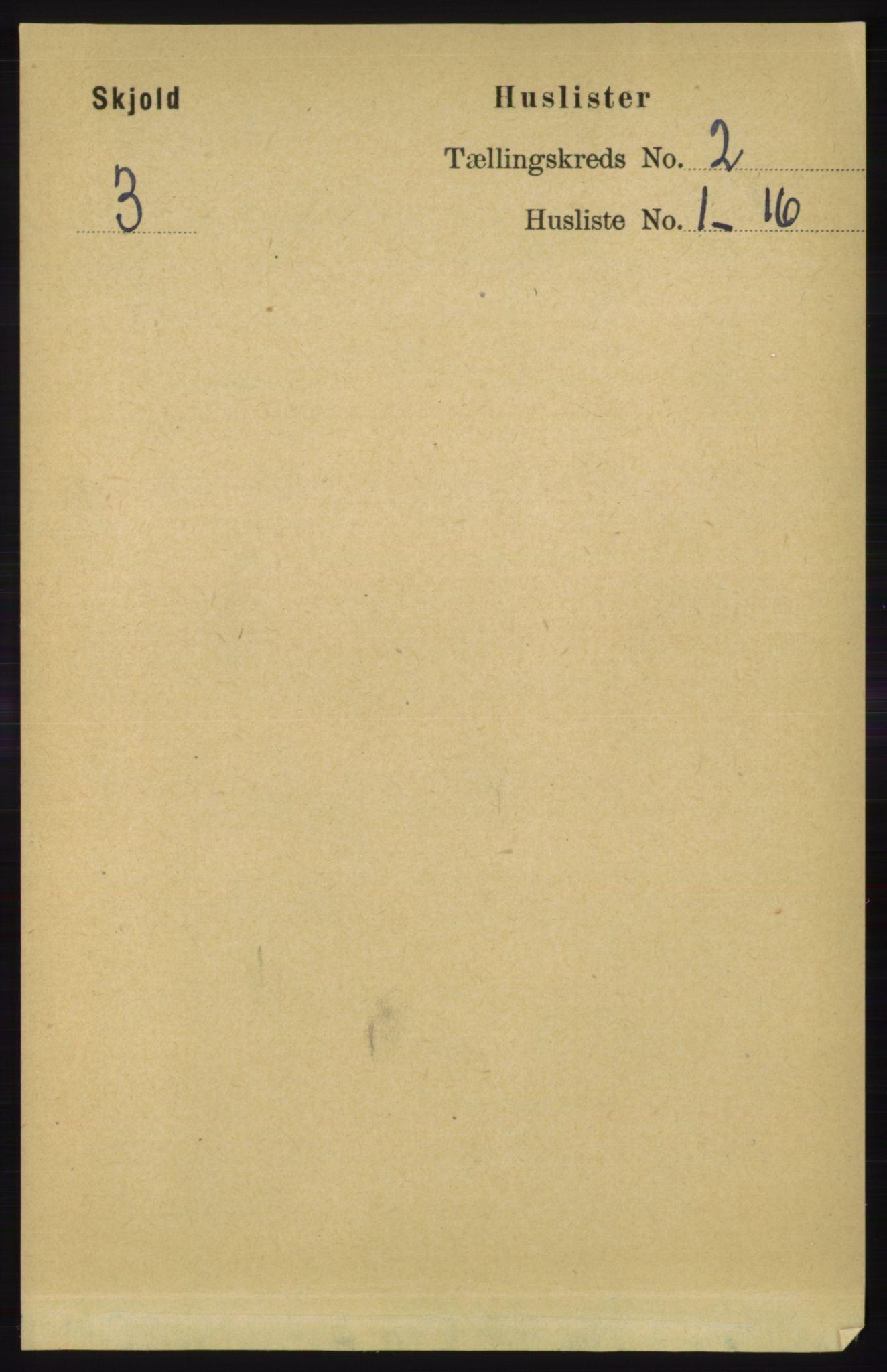 RA, Folketelling 1891 for 1154 Skjold herred, 1891, s. 264