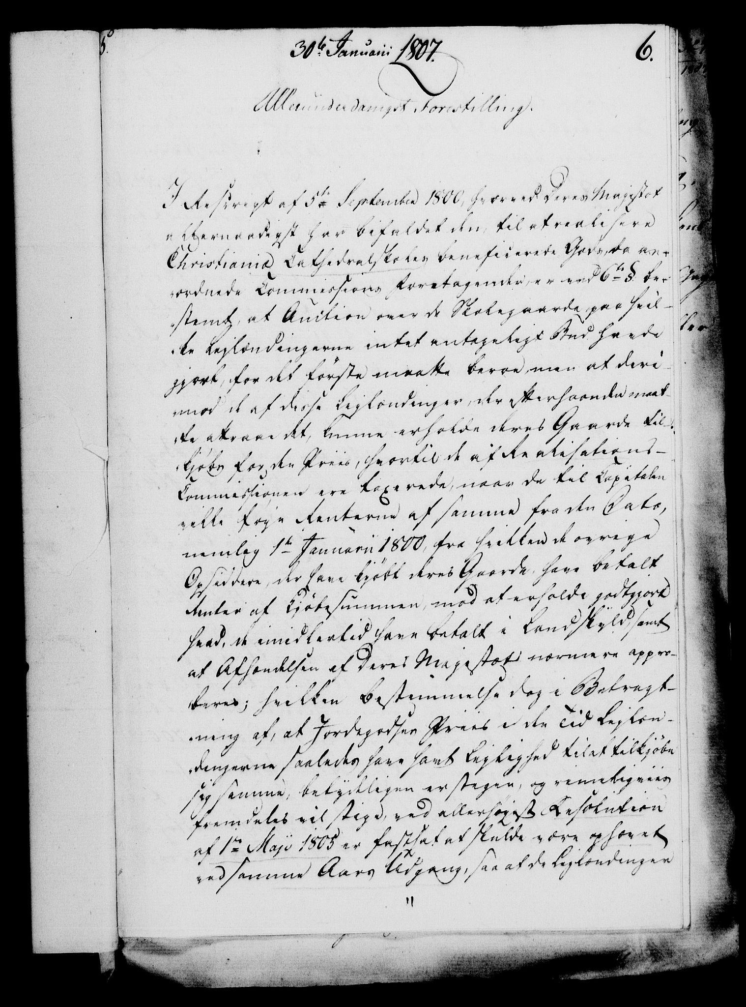 RA, Rentekammeret, Kammerkanselliet, G/Gf/Gfa/L0089: Norsk relasjons- og resolusjonsprotokoll (merket RK 52.89), 1807, s. 59