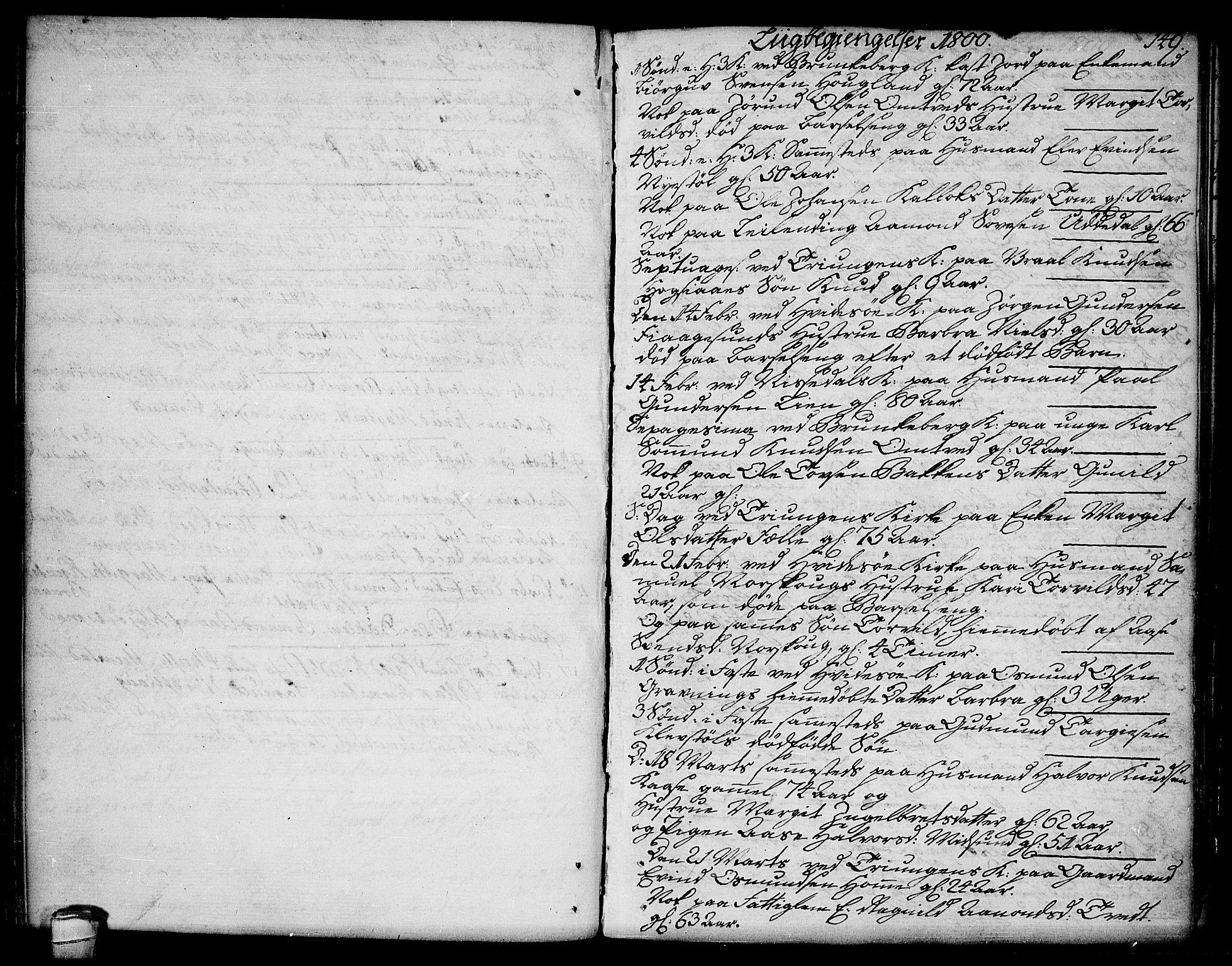 SAKO, Kviteseid kirkebøker, F/Fa/L0004: Ministerialbok nr. I 4, 1800-1814, s. 149