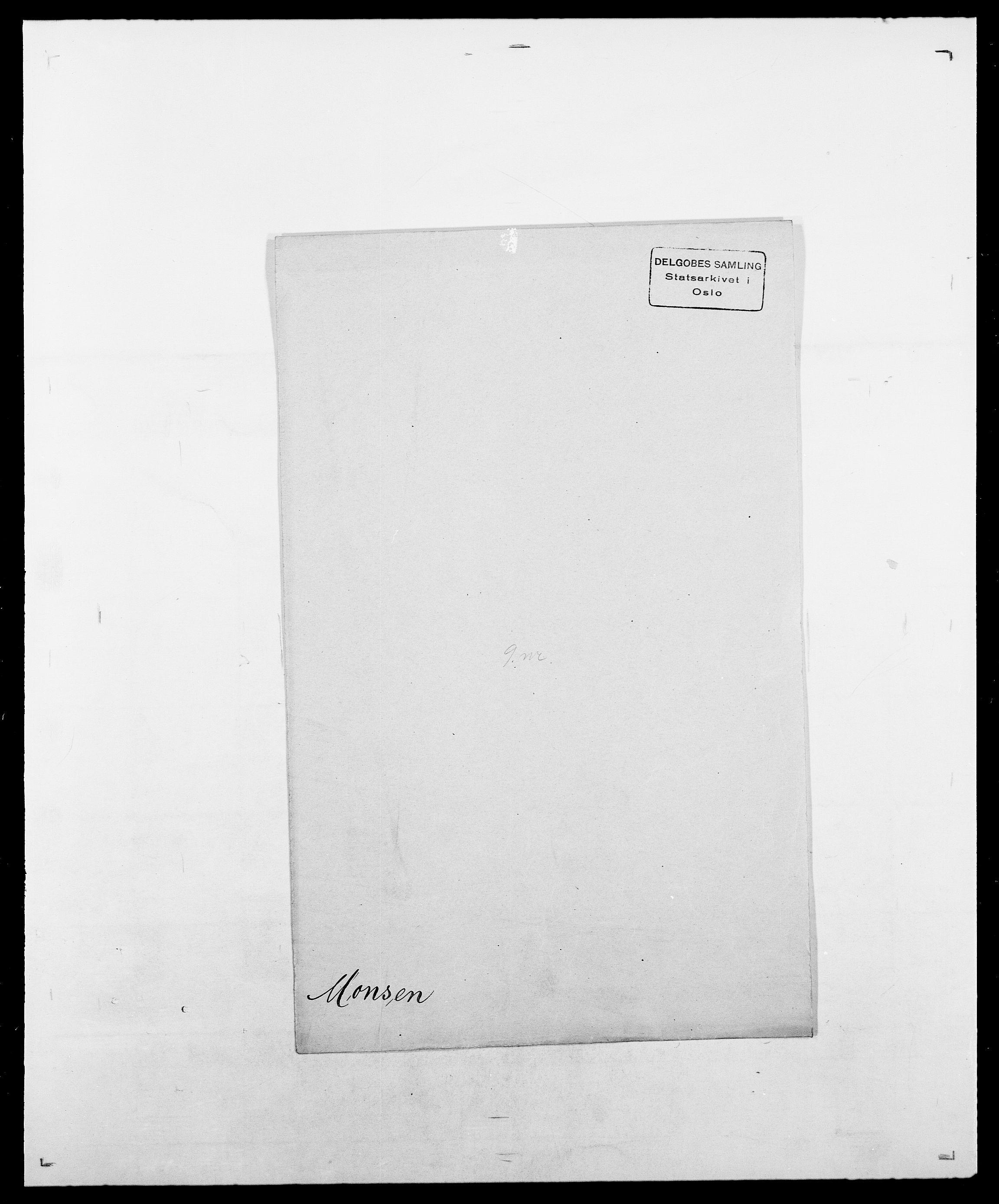 SAO, Delgobe, Charles Antoine - samling, D/Da/L0026: Mechelby - Montoppidan, s. 828