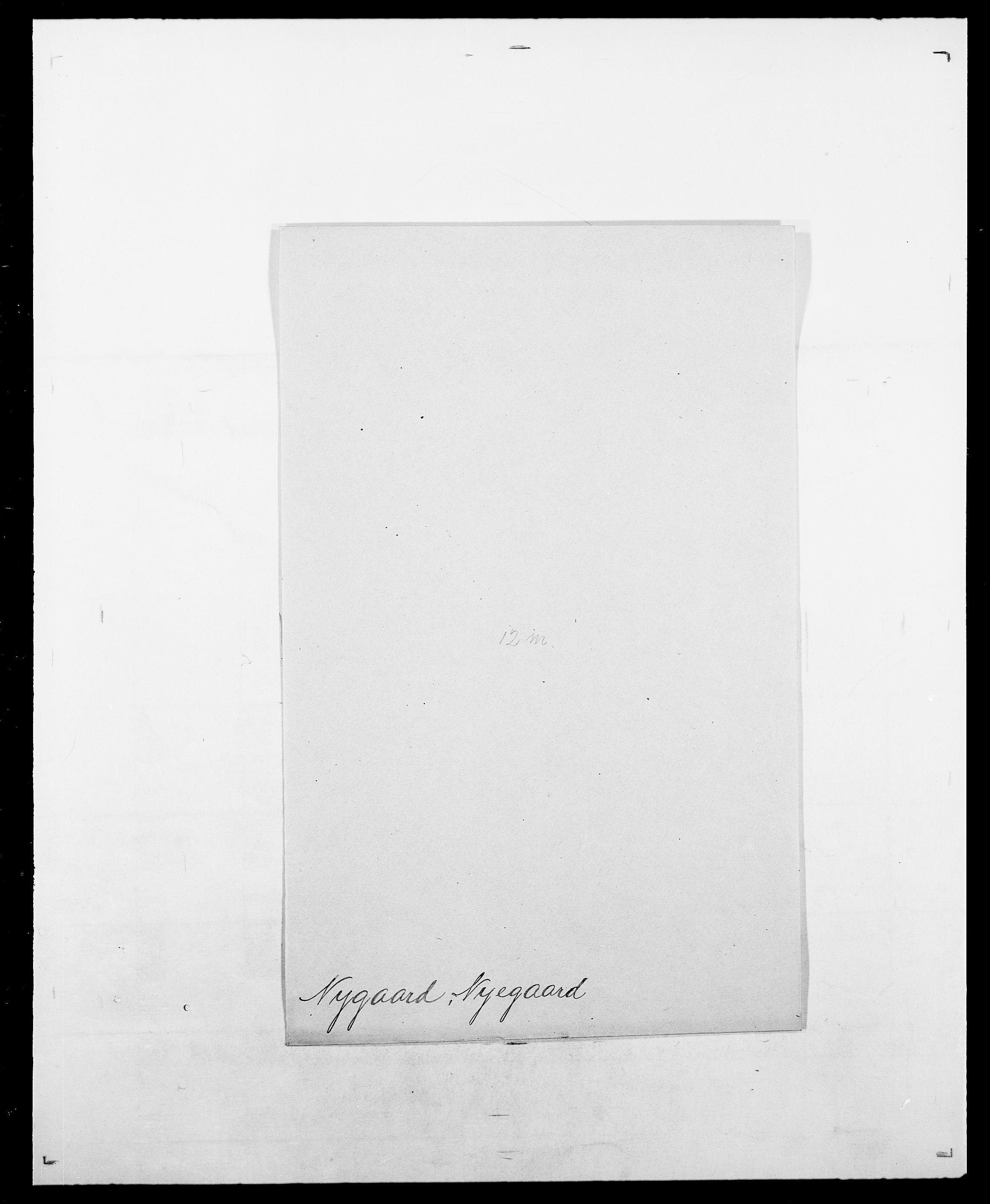 SAO, Delgobe, Charles Antoine - samling, D/Da/L0028: Naaden - Nøvik, s. 528