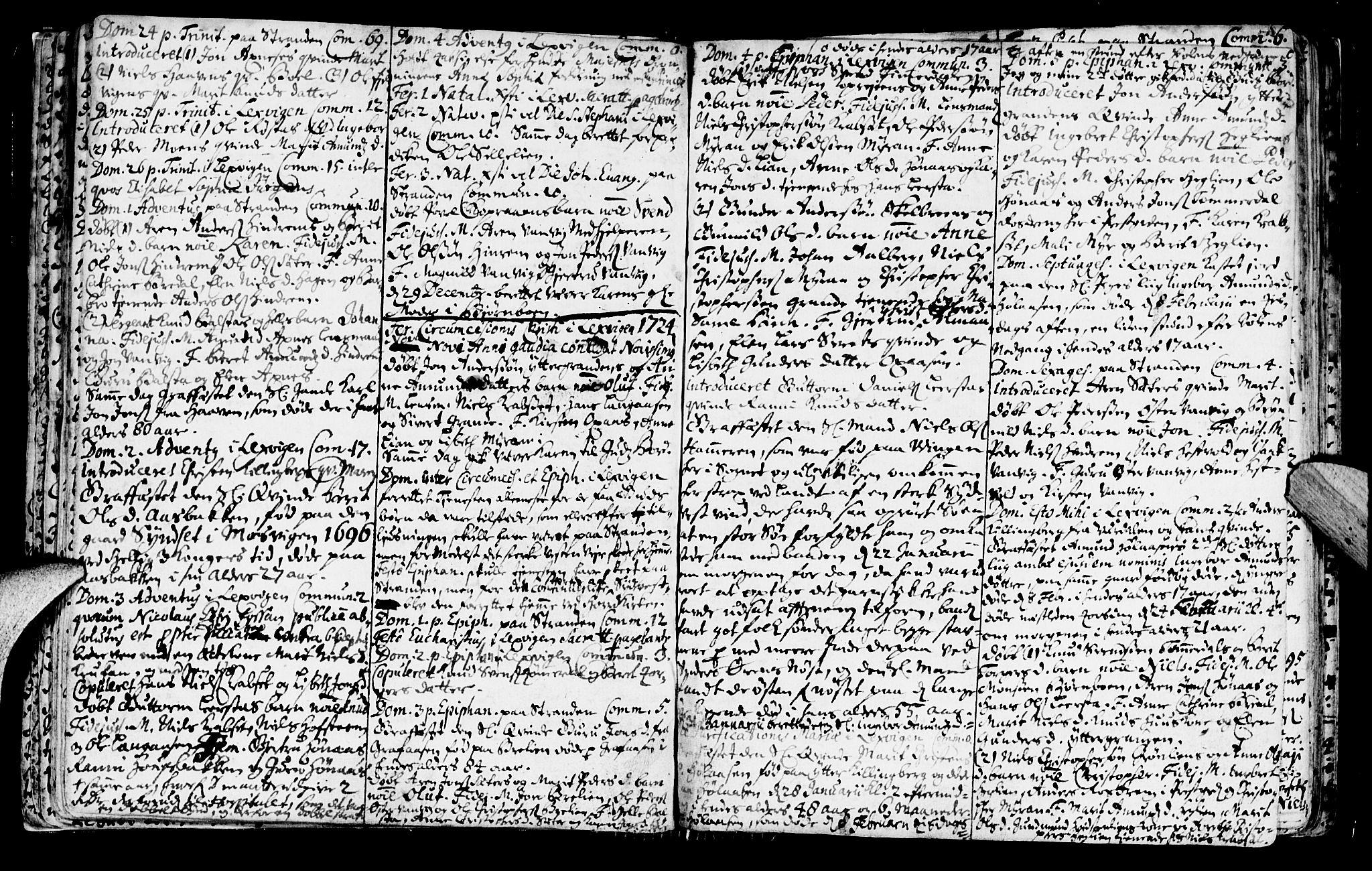 SAT, Ministerialprotokoller, klokkerbøker og fødselsregistre - Nord-Trøndelag, 701/L0001: Ministerialbok nr. 701A01, 1717-1731, s. 23