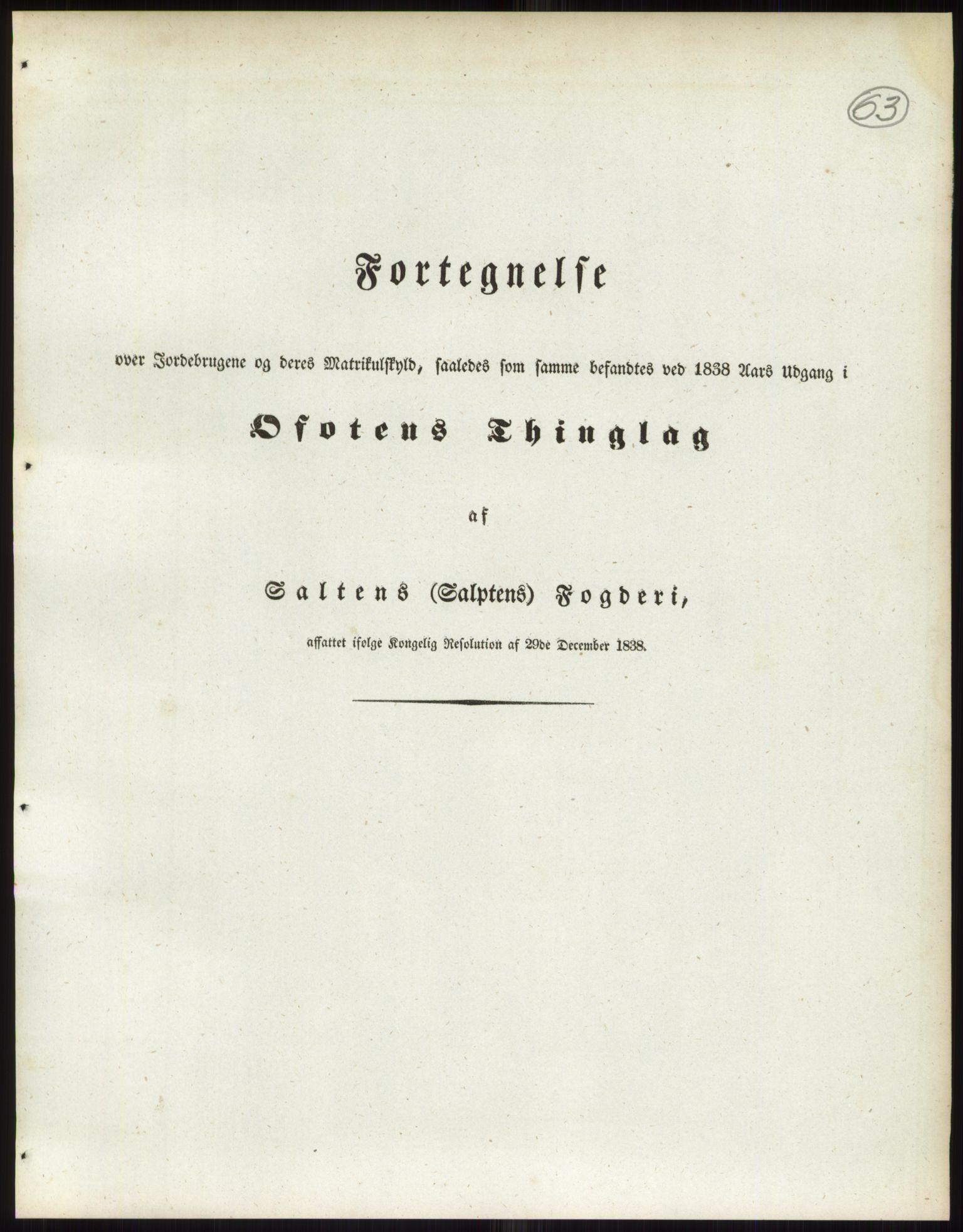 RA, 1838-matrikkelen (publikasjon)*, 1838, s. 63