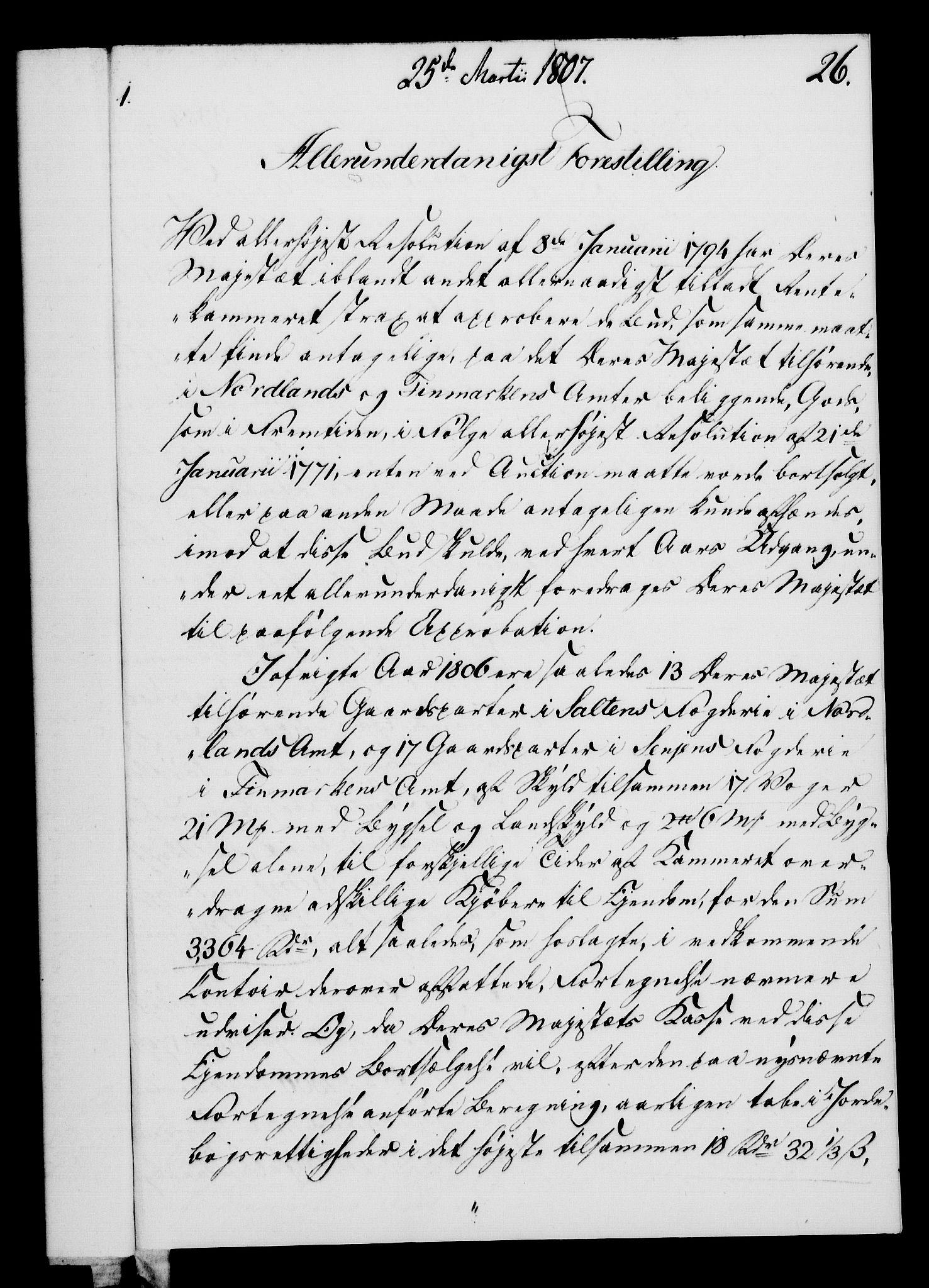 RA, Rentekammeret, Kammerkanselliet, G/Gf/Gfa/L0089: Norsk relasjons- og resolusjonsprotokoll (merket RK 52.89), 1807, s. 179