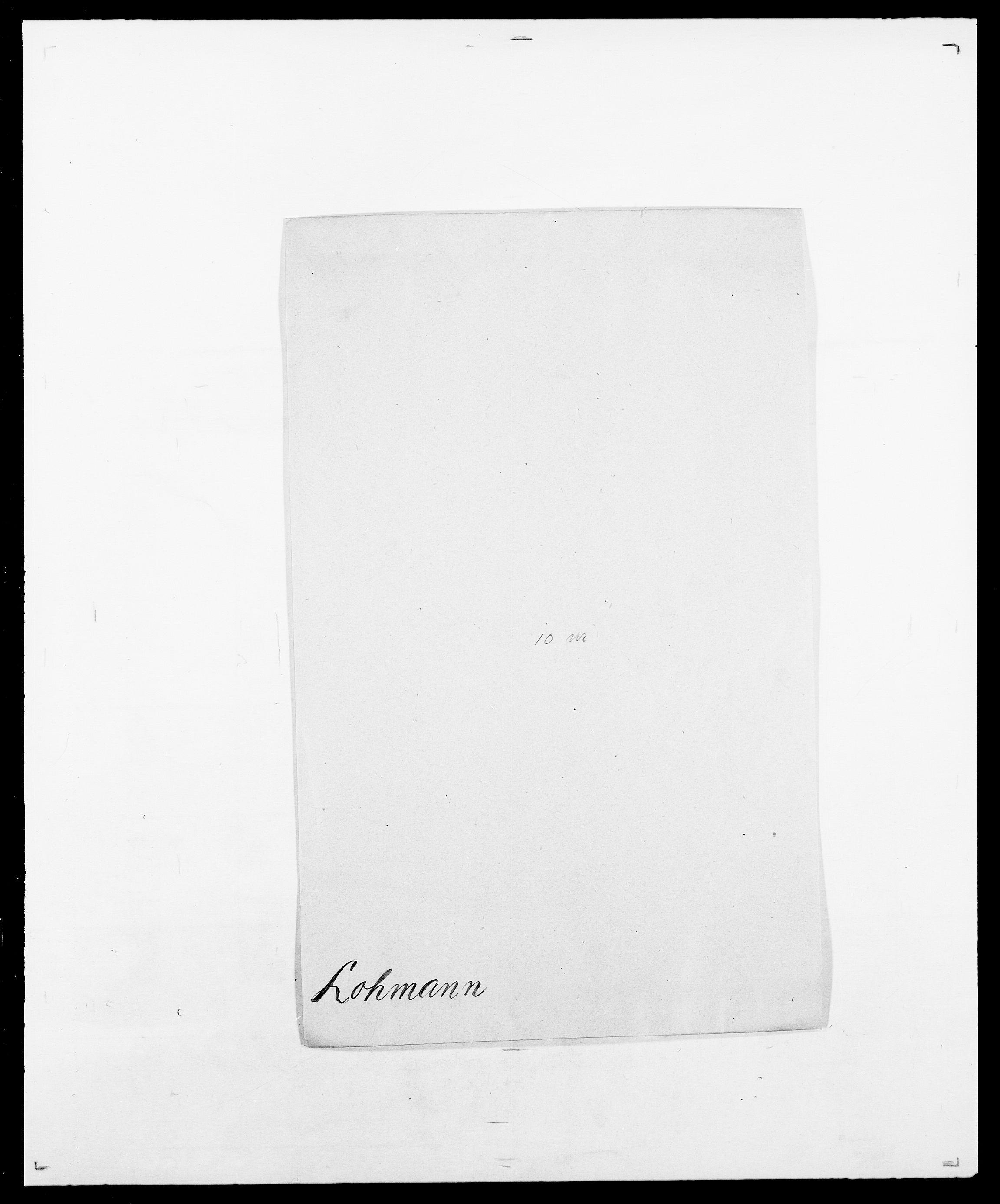 SAO, Delgobe, Charles Antoine - samling, D/Da/L0024: Lobech - Lærum, s. 54