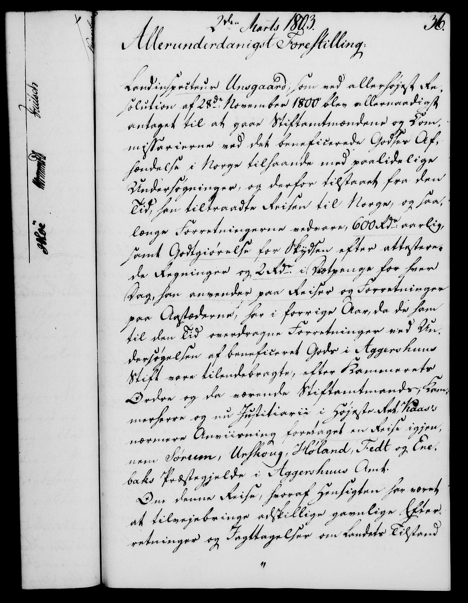 RA, Rentekammeret, Kammerkanselliet, G/Gf/Gfa/L0085: Norsk relasjons- og resolusjonsprotokoll (merket RK 52.85), 1803, s. 252