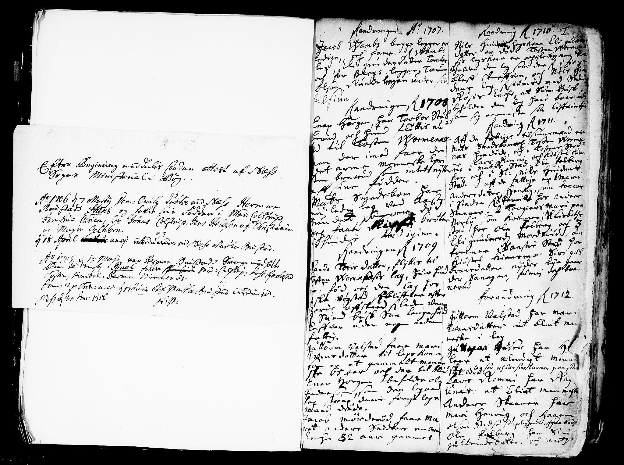 SAO, Nes prestekontor Kirkebøker, F/Fa/L0001: Ministerialbok nr. I 1, 1689-1716