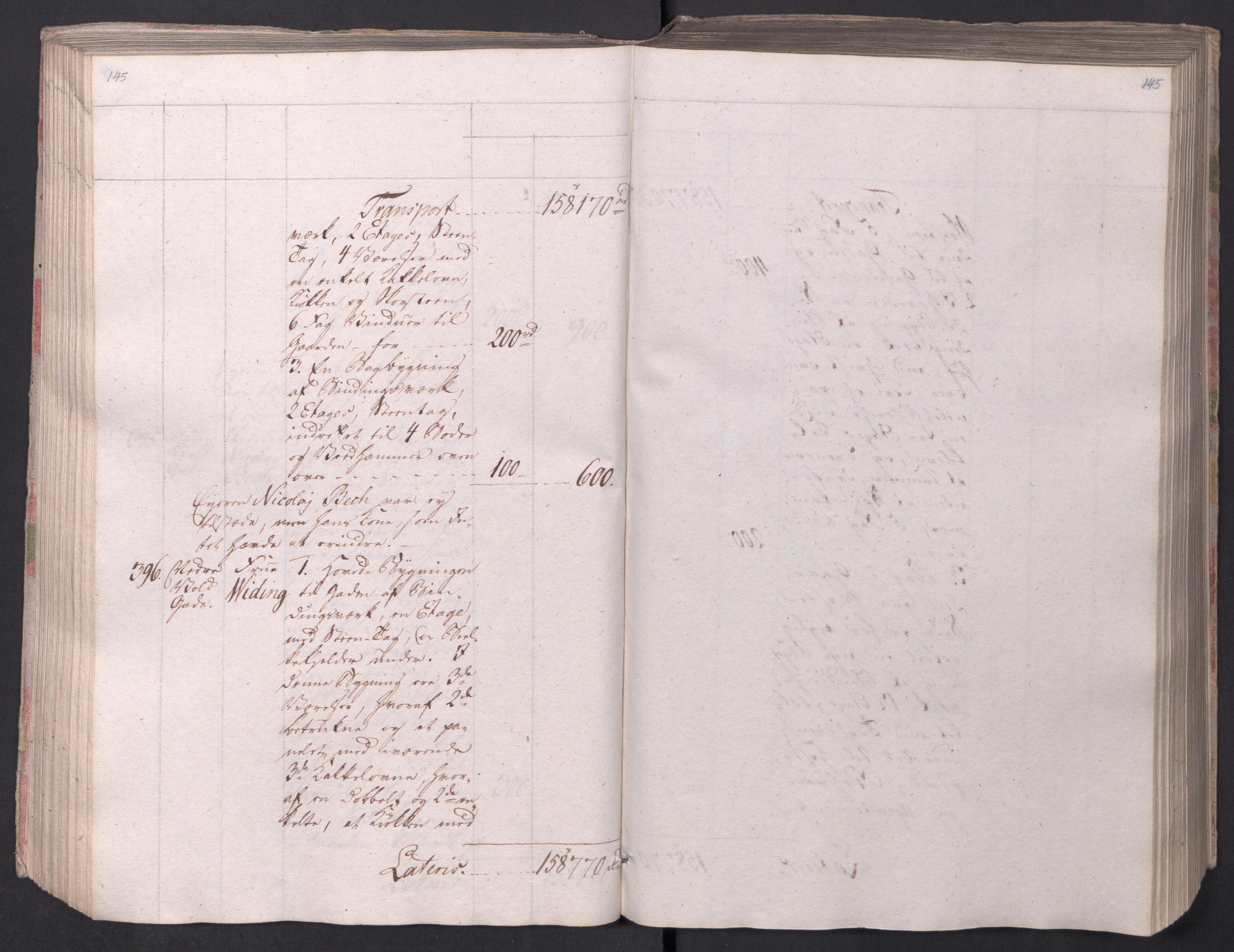 SAO, Kristiania stiftamt, I/Ia/L0015: Branntakster, 1797, s. 145