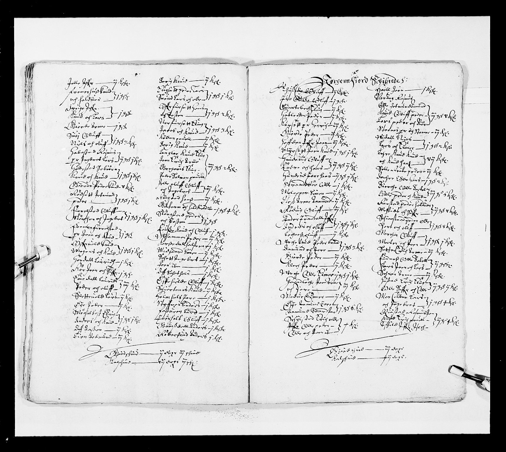 RA, Stattholderembetet 1572-1771, Ek/L0025: Jordebøker 1633-1658:, 1645-1646, s. 252