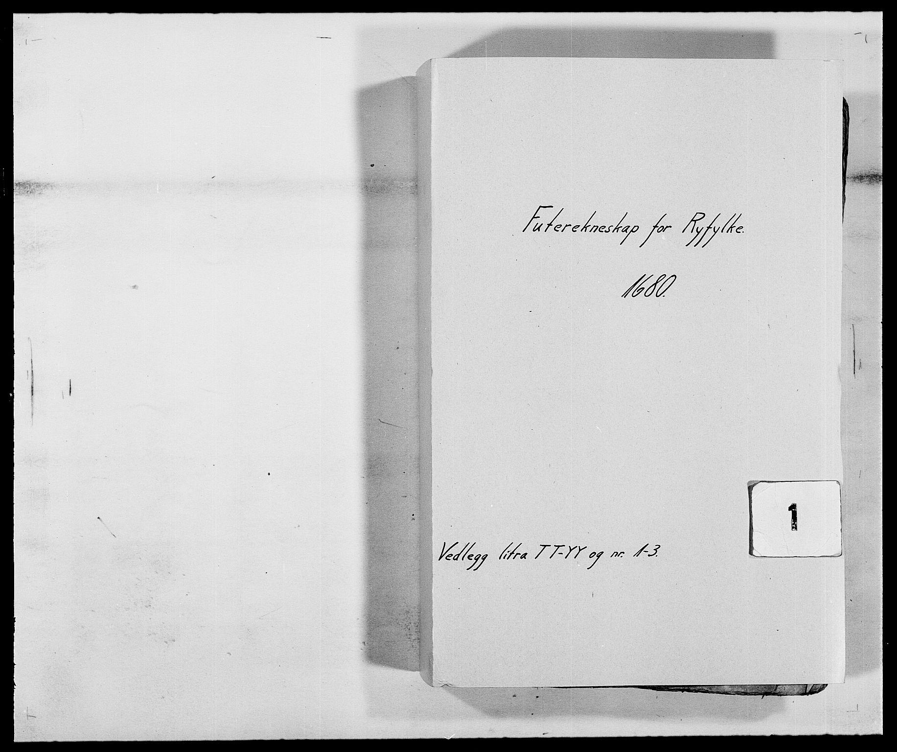 RA, Rentekammeret inntil 1814, Reviderte regnskaper, Fogderegnskap, R47/L2850: Fogderegnskap Ryfylke, 1680, s. 1