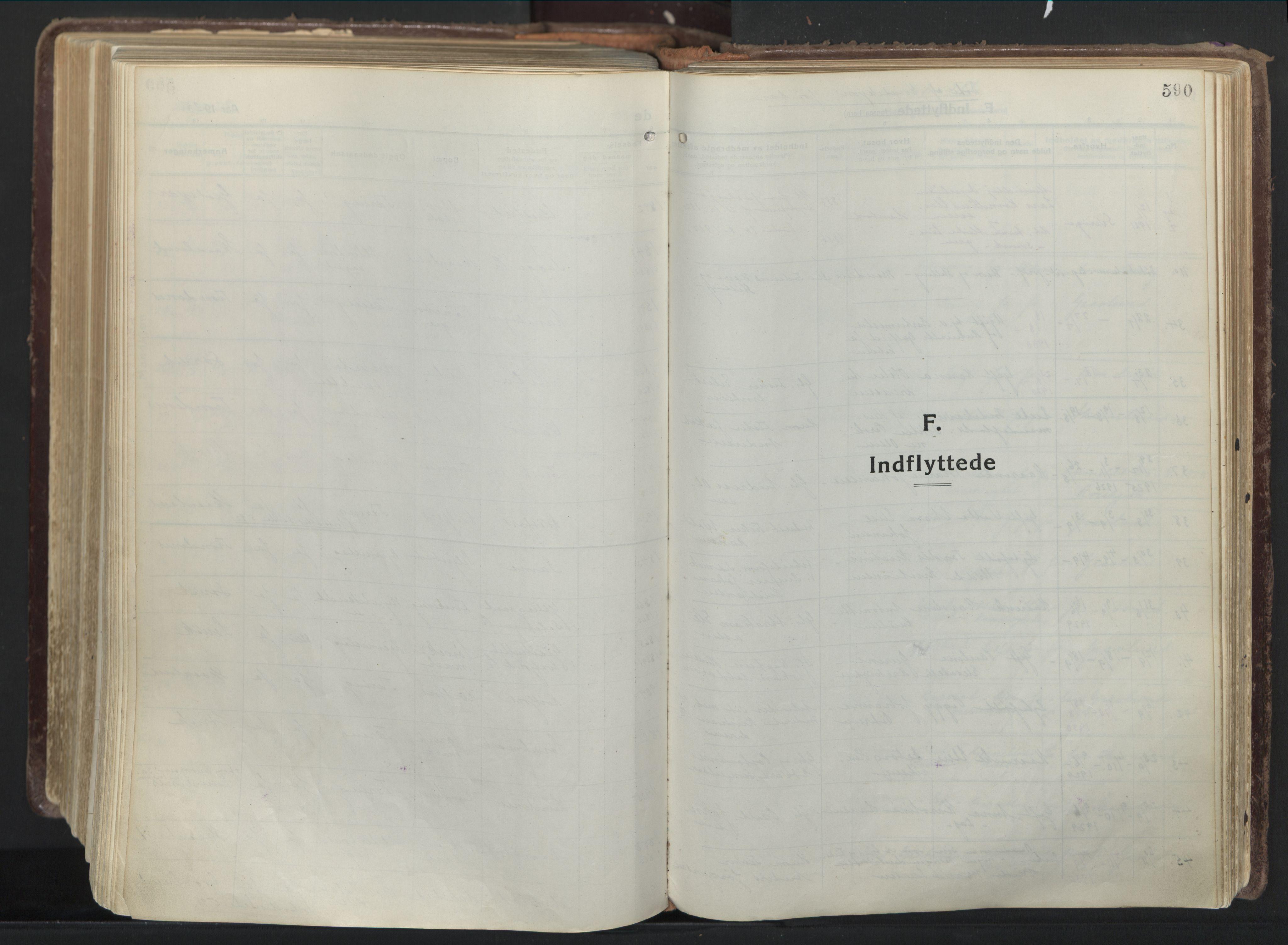 SATØ, Trondenes sokneprestkontor, H/Ha/L0019kirke: Ministerialbok nr. 19, 1919-1928, s. 590
