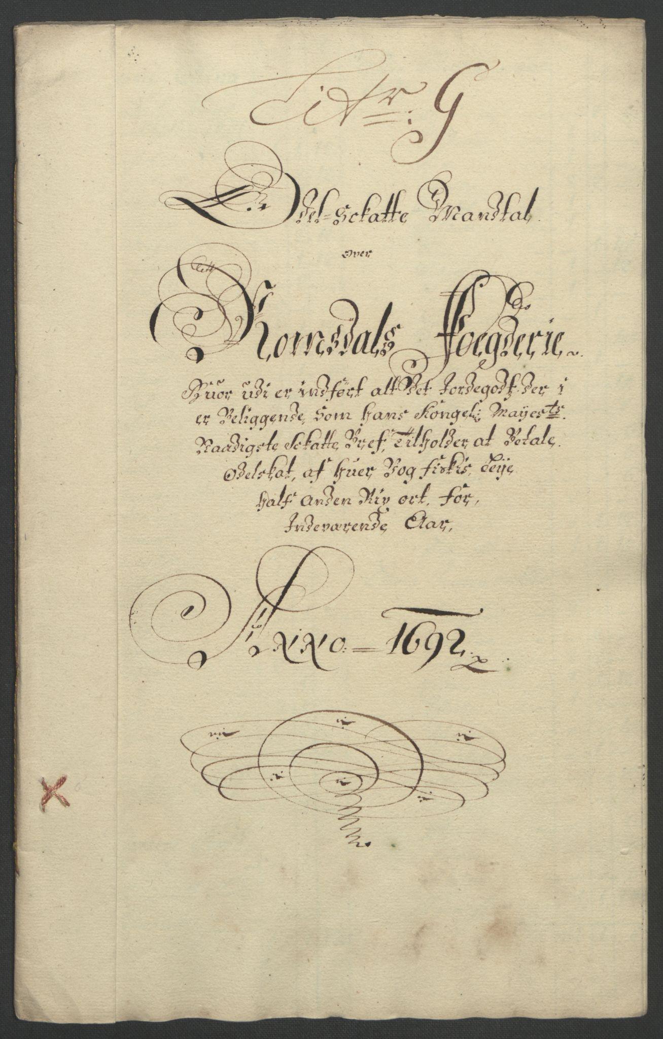 RA, Rentekammeret inntil 1814, Reviderte regnskaper, Fogderegnskap, R55/L3650: Fogderegnskap Romsdal, 1692, s. 90