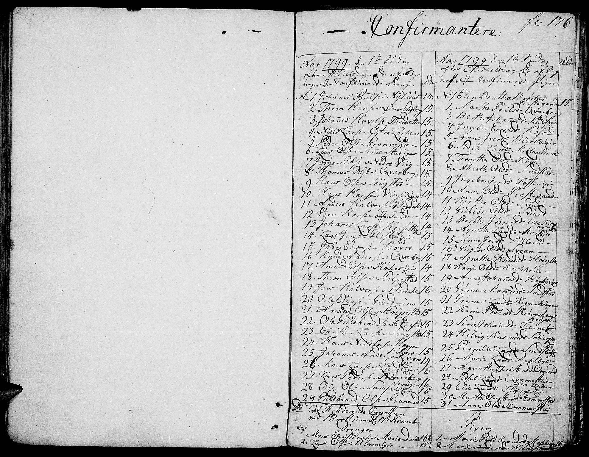 SAH, Ringsaker prestekontor, K/Ka/L0004: Ministerialbok nr. 4, 1799-1814, s. 176