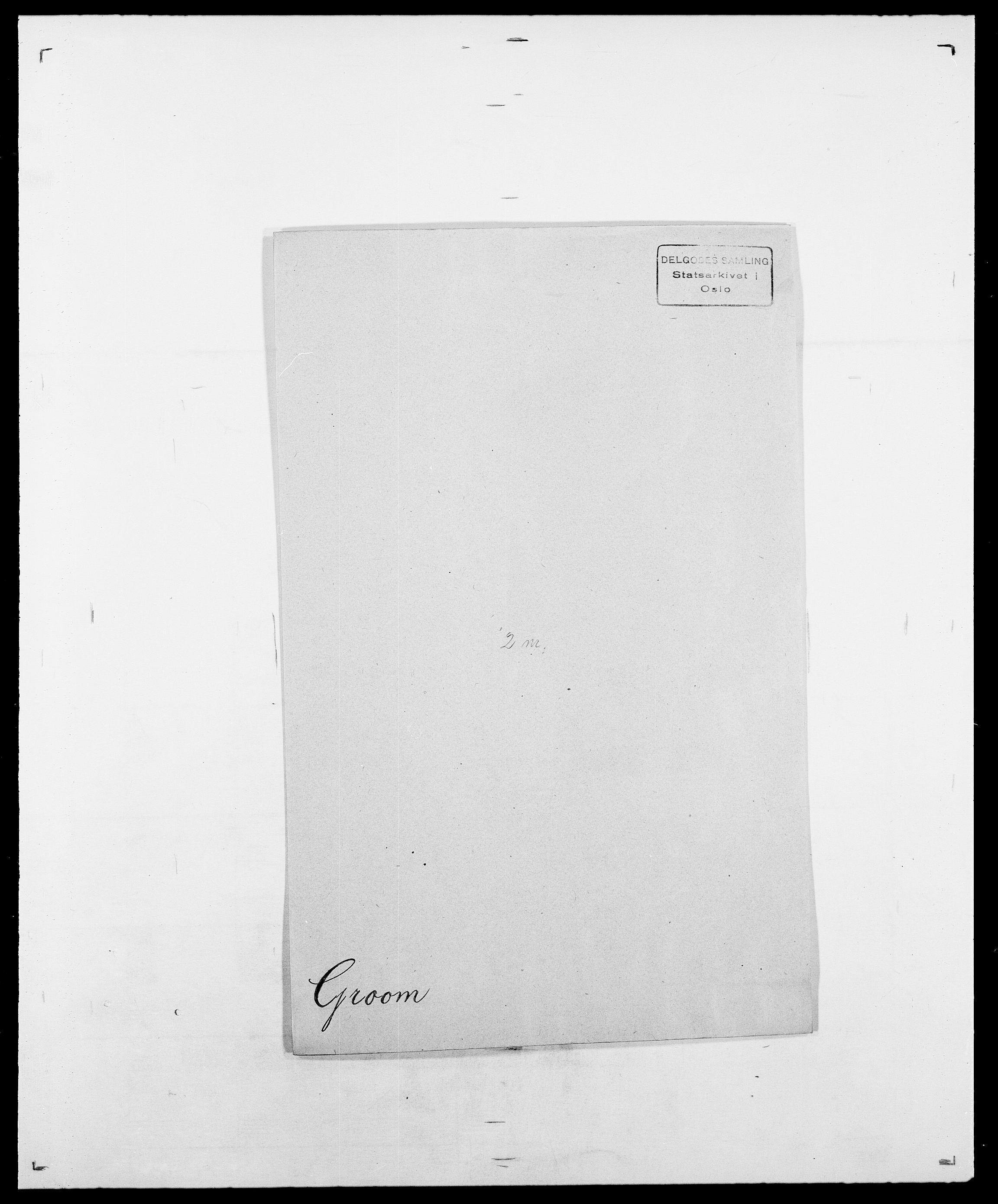 SAO, Delgobe, Charles Antoine - samling, D/Da/L0015: Grodtshilling - Halvorsæth, s. 9