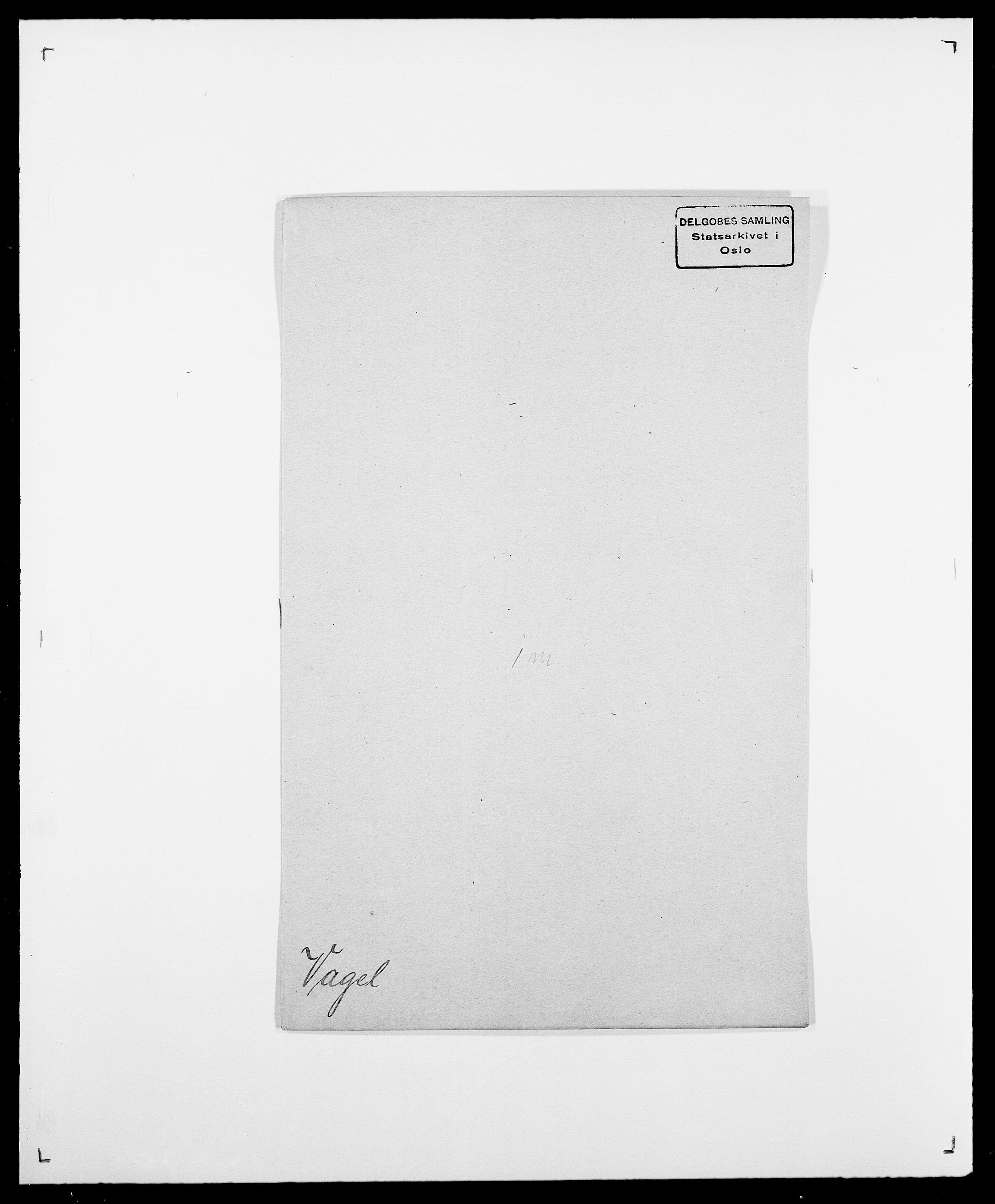SAO, Delgobe, Charles Antoine - samling, D/Da/L0040: Usgaard - Velund, s. 85
